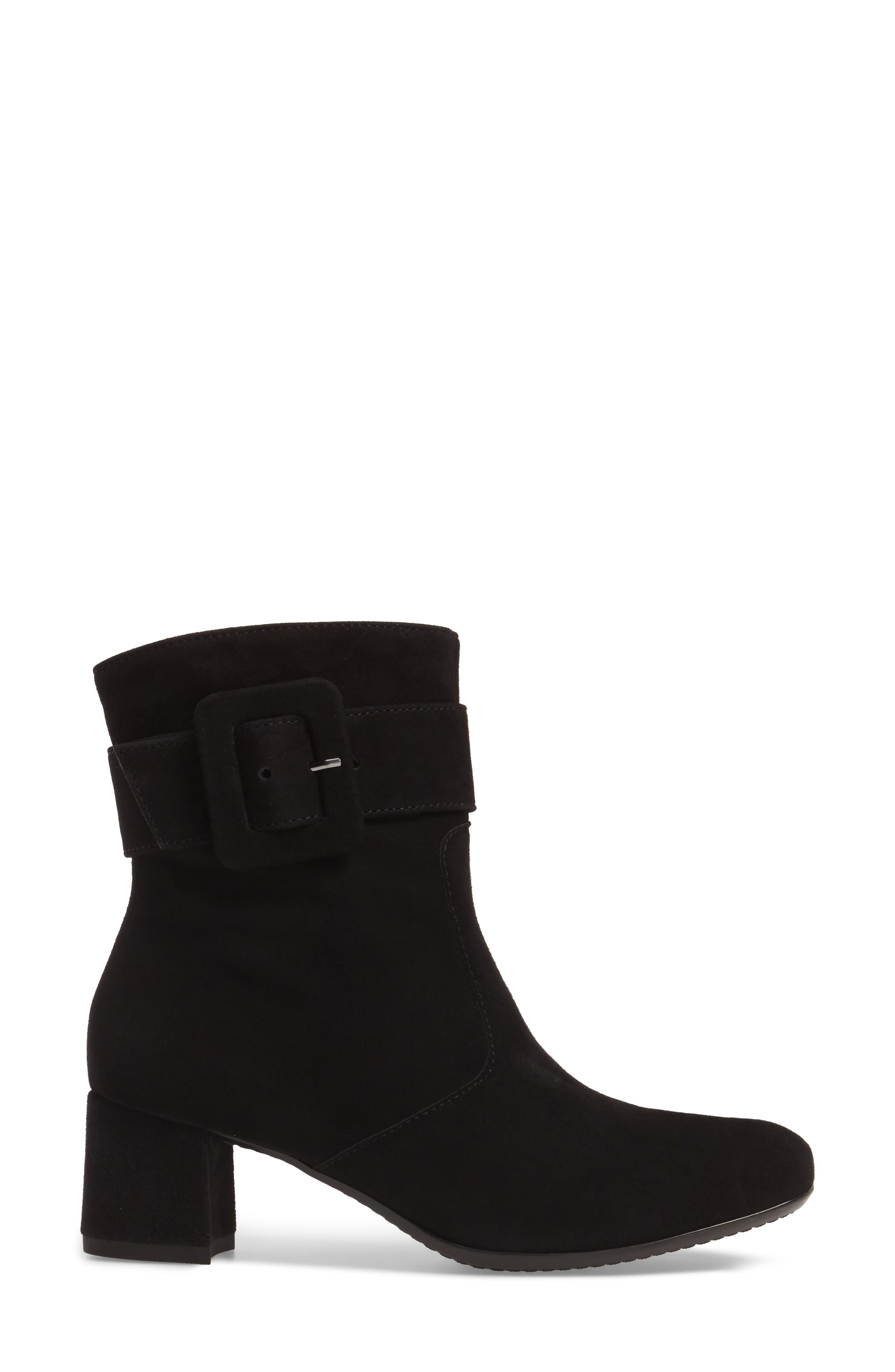 Charlize Boot,                             Alternate thumbnail 3, color,                             BLACK SUEDE