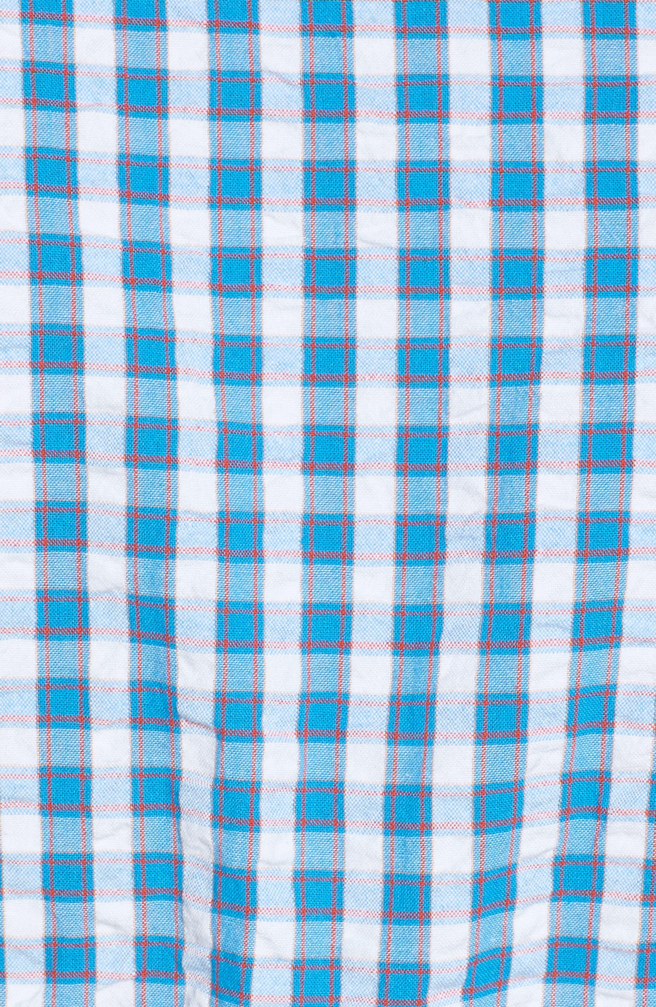 Tyler Classic Fit Seersucker Sport Shirt,                             Alternate thumbnail 10, color,