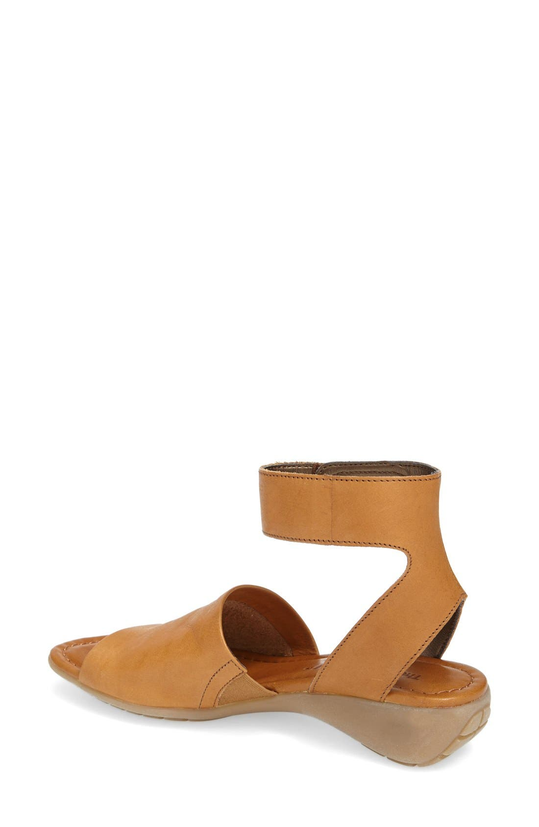 'Beglad' Leather Ankle Strap Sandal,                             Alternate thumbnail 27, color,