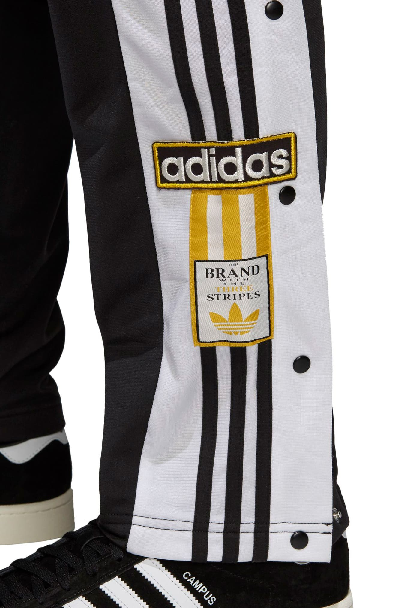 ADIDAS ORIGINALS,                             Adibreak Track Pants,                             Alternate thumbnail 4, color,                             001