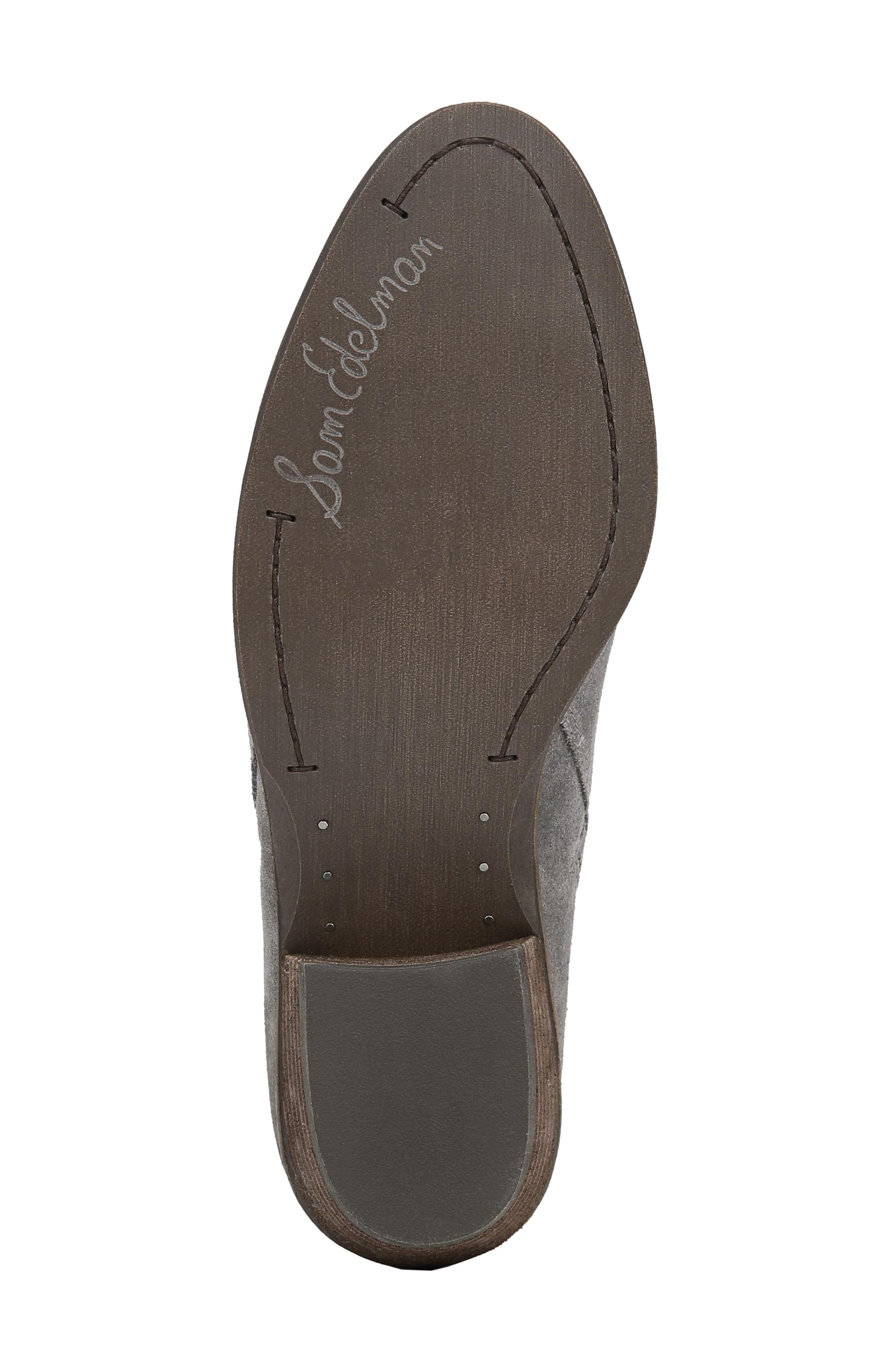 Packer Bootie,                             Alternate thumbnail 6, color,                             STEEL GREY SUEDE LEATHER