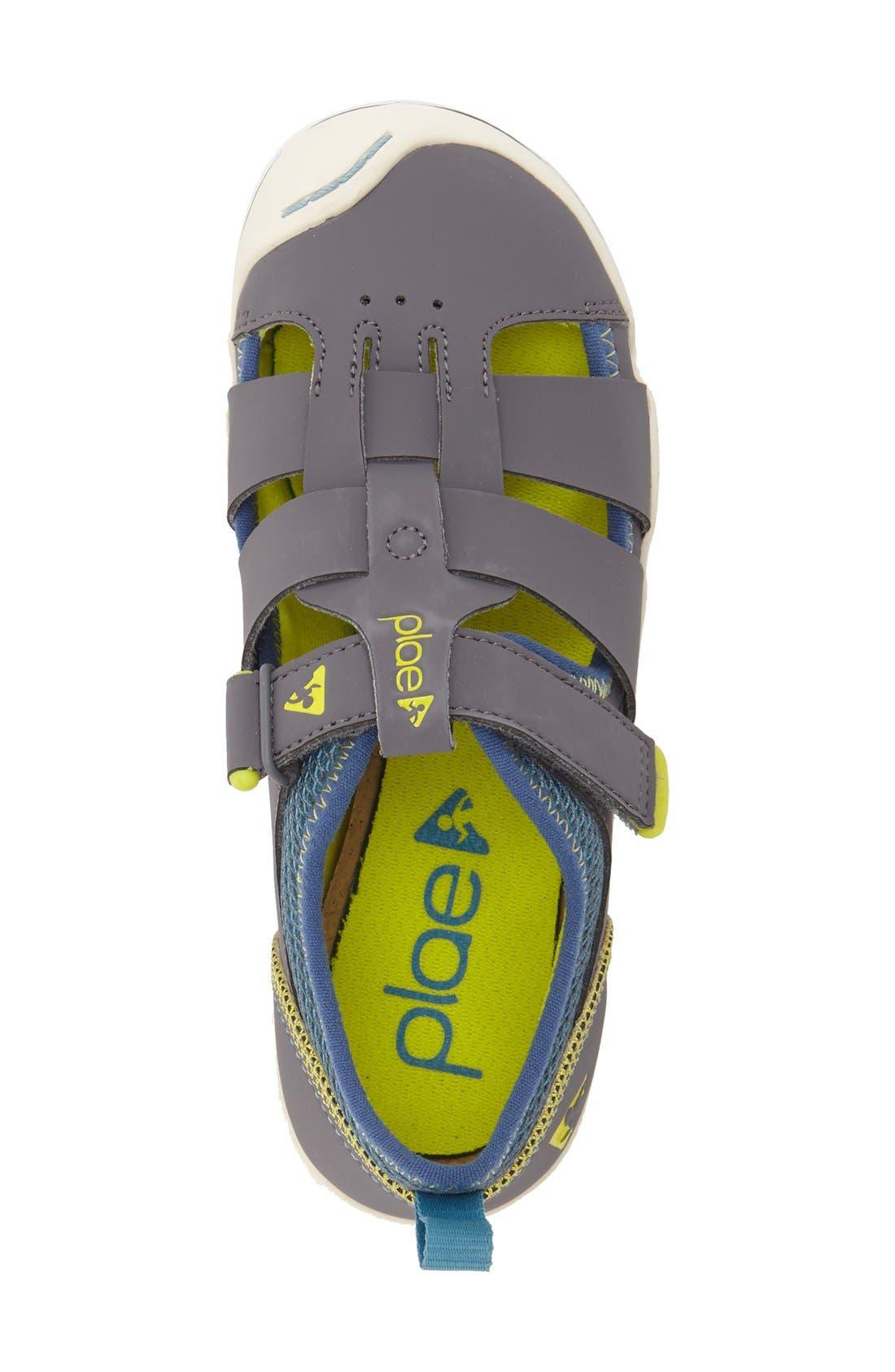 Sam Customizable Sneaker,                             Alternate thumbnail 3, color,                             STEEL