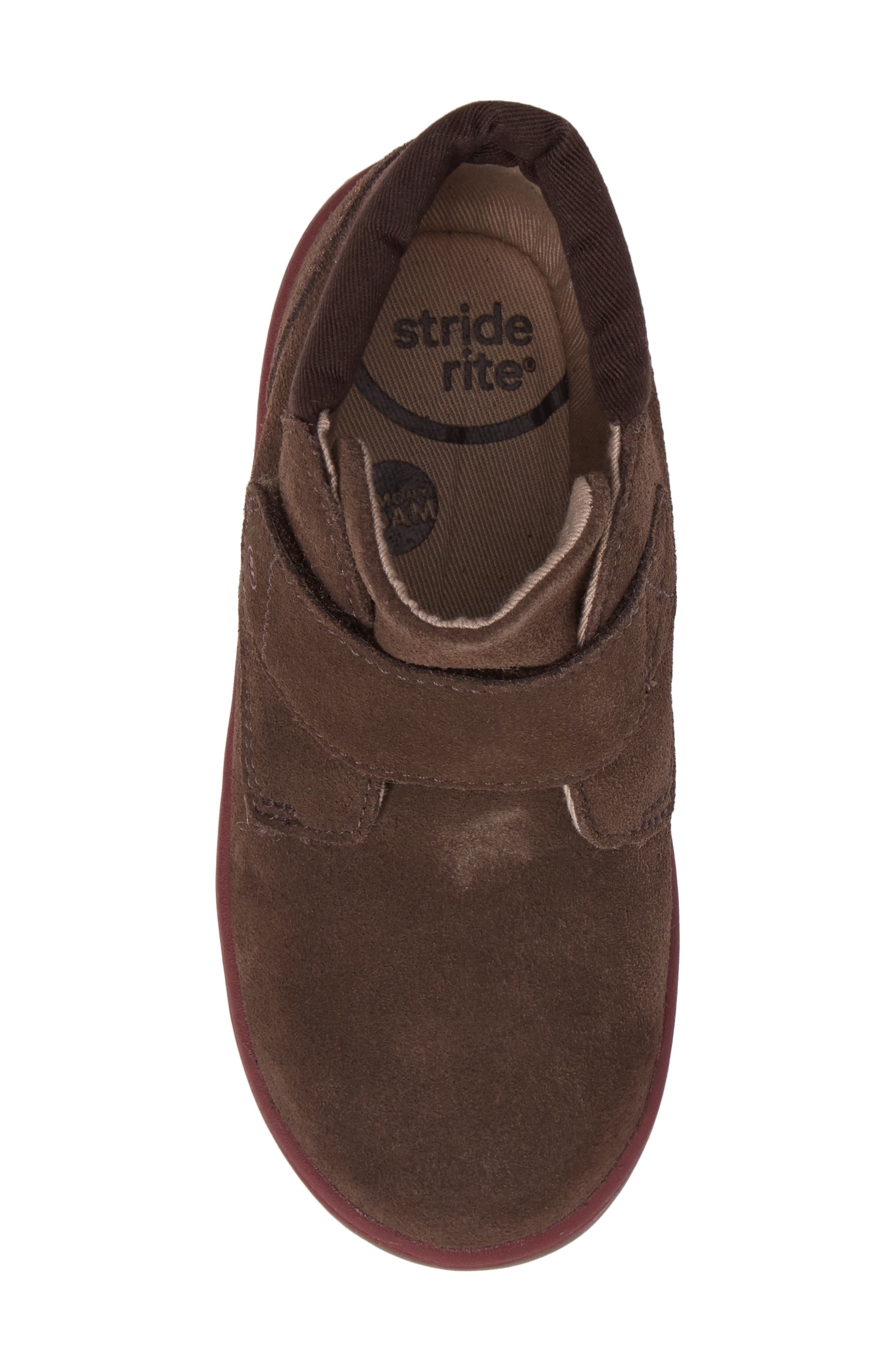SRtech<sup>™</sup> Lincoln Bootie,                             Alternate thumbnail 5, color,                             BROWN SUEDE