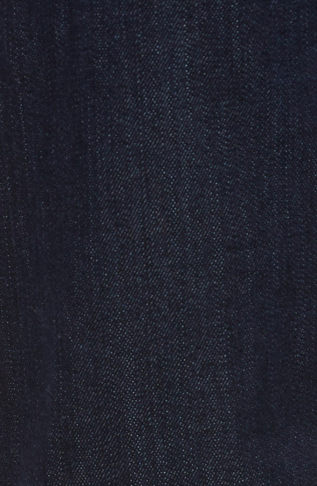 'Zach' Straight Leg Jeans,                             Alternate thumbnail 6, color,                             RINSE PORTLAND