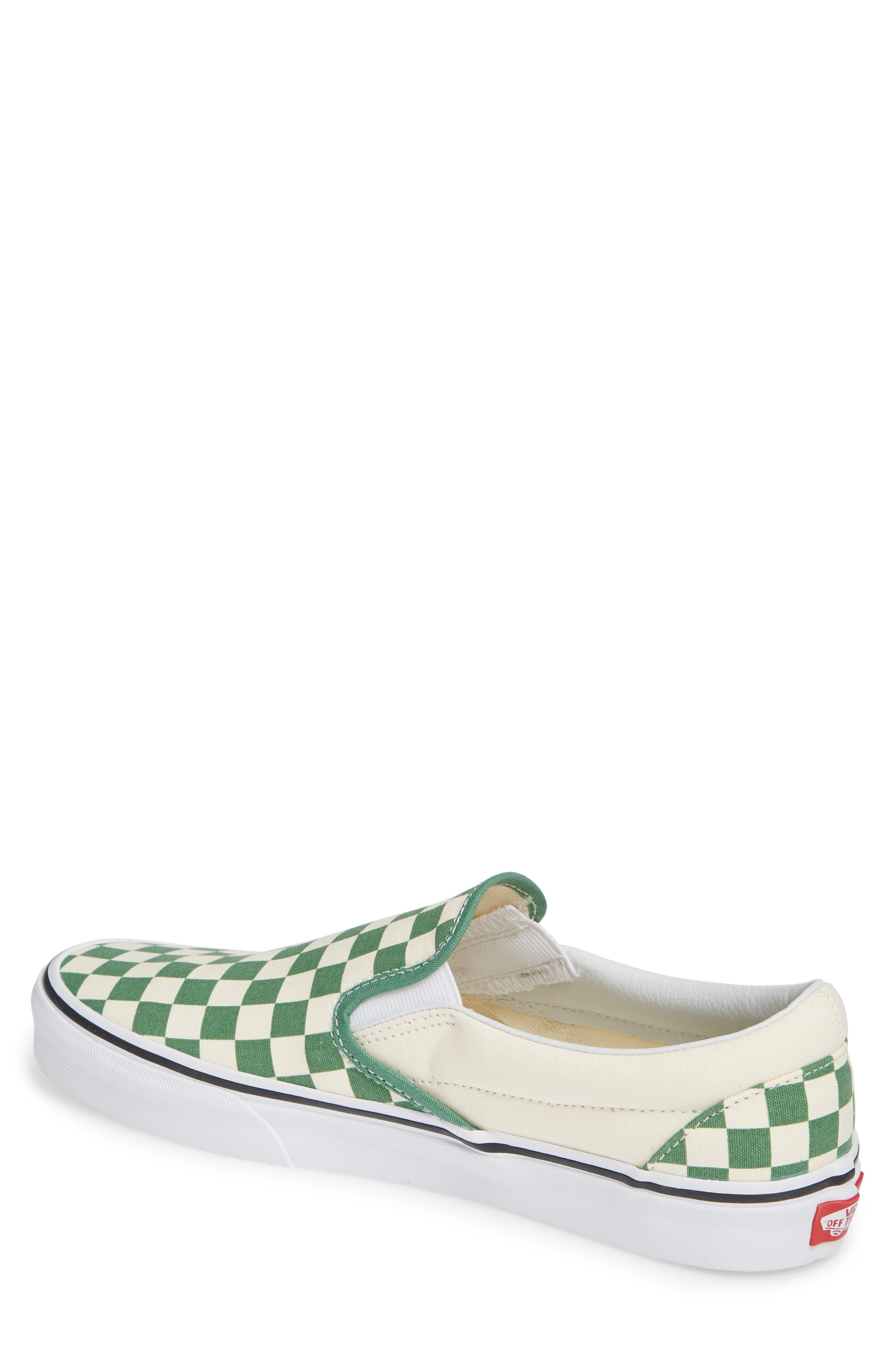 Classic Slip-On,                             Alternate thumbnail 2, color,                             DEEP GRASS GREEN