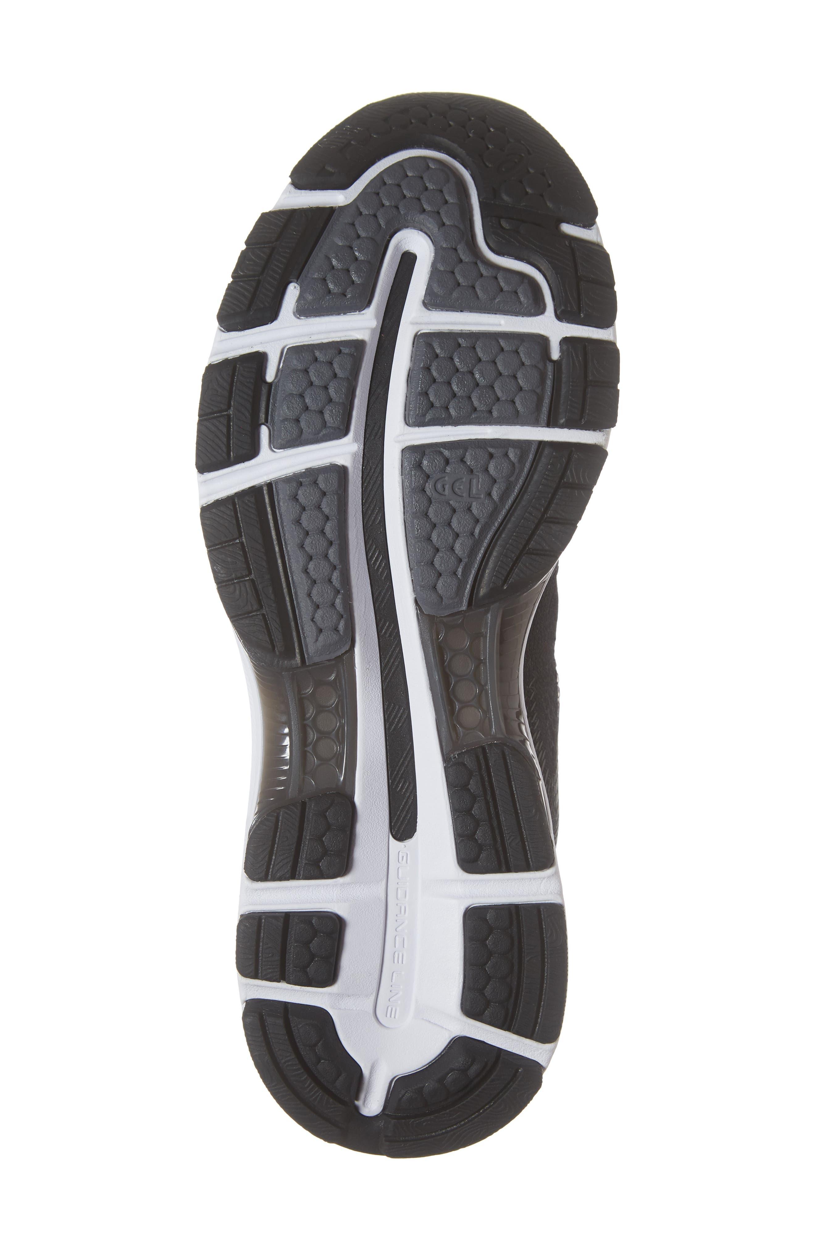 GEL<sup>®</sup>-Nimbus 20 Running Shoe,                             Alternate thumbnail 6, color,                             BLACK/ WHITE/ CARBON