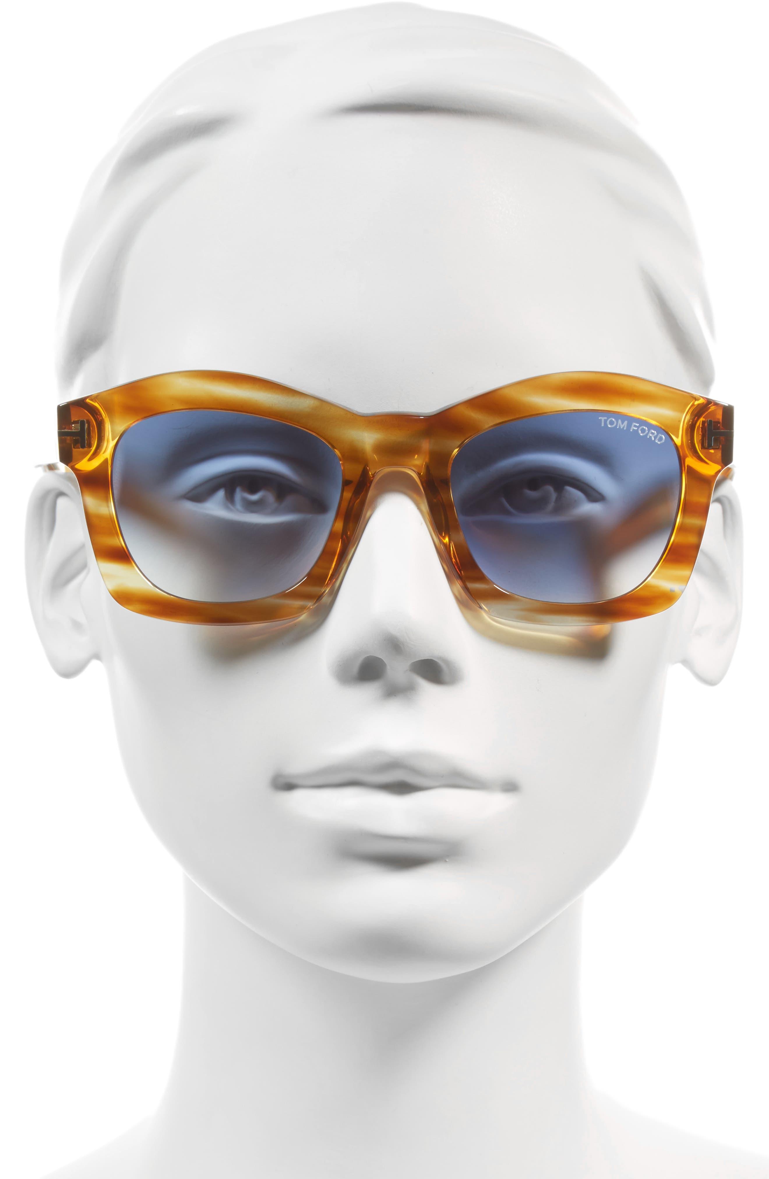 'Greta' 50mm Sunglasses,                             Alternate thumbnail 8, color,