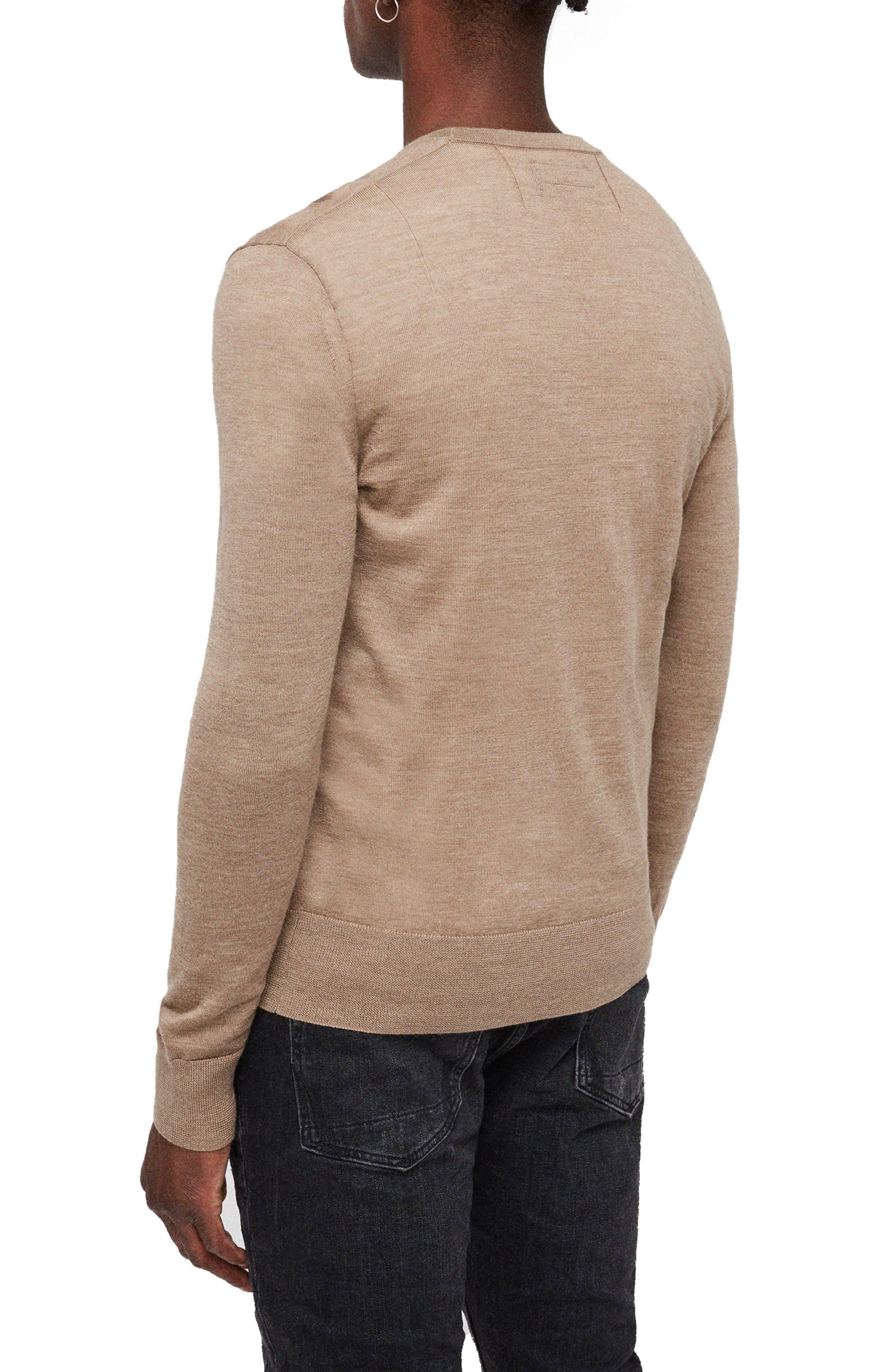 Mode Slim Fit Merino Wool Sweater,                             Alternate thumbnail 12, color,