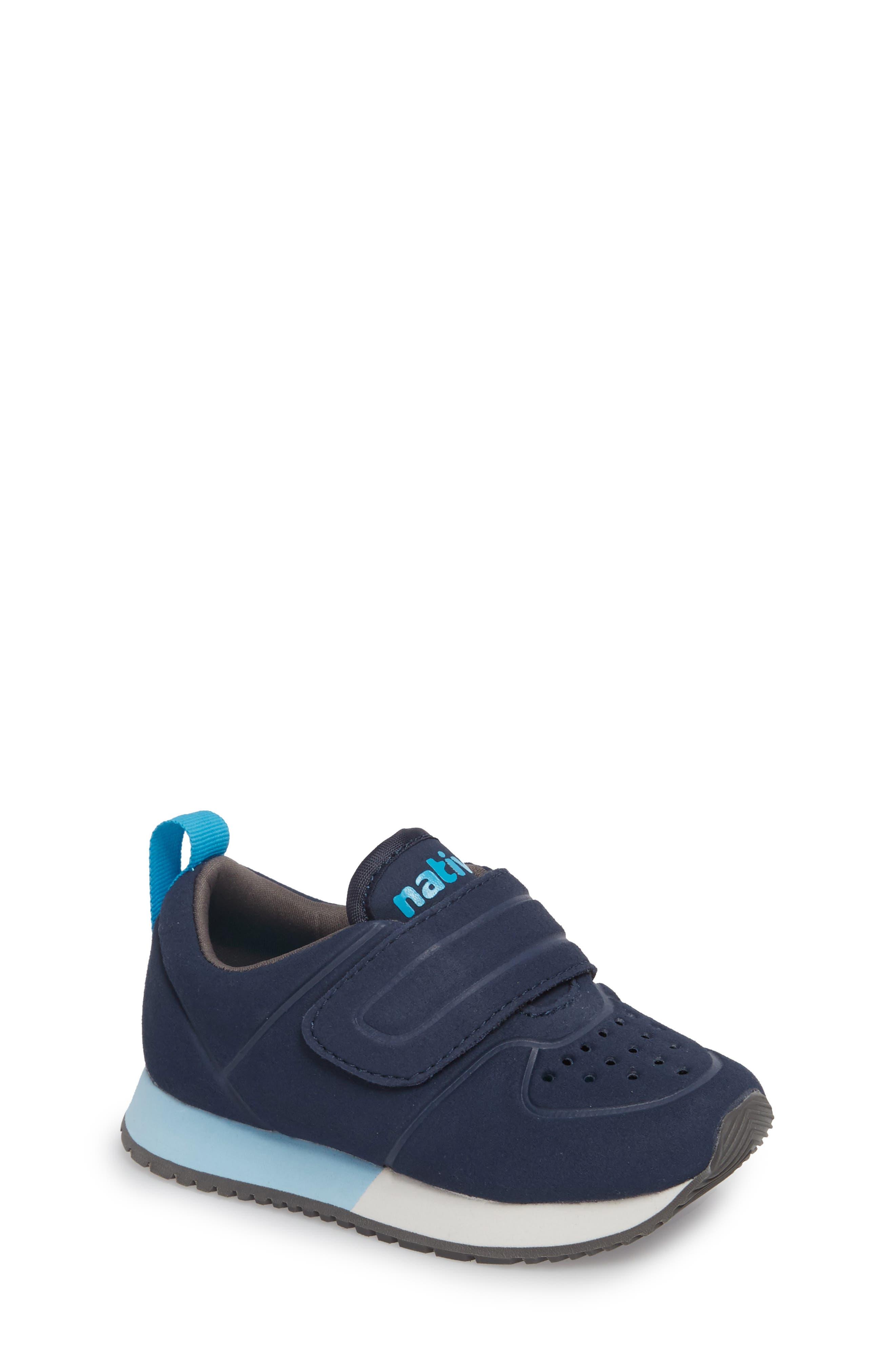 Native Cornell Perforated Sneaker,                         Main,                         color, REGATTA BLUE/ SHELL WHITE