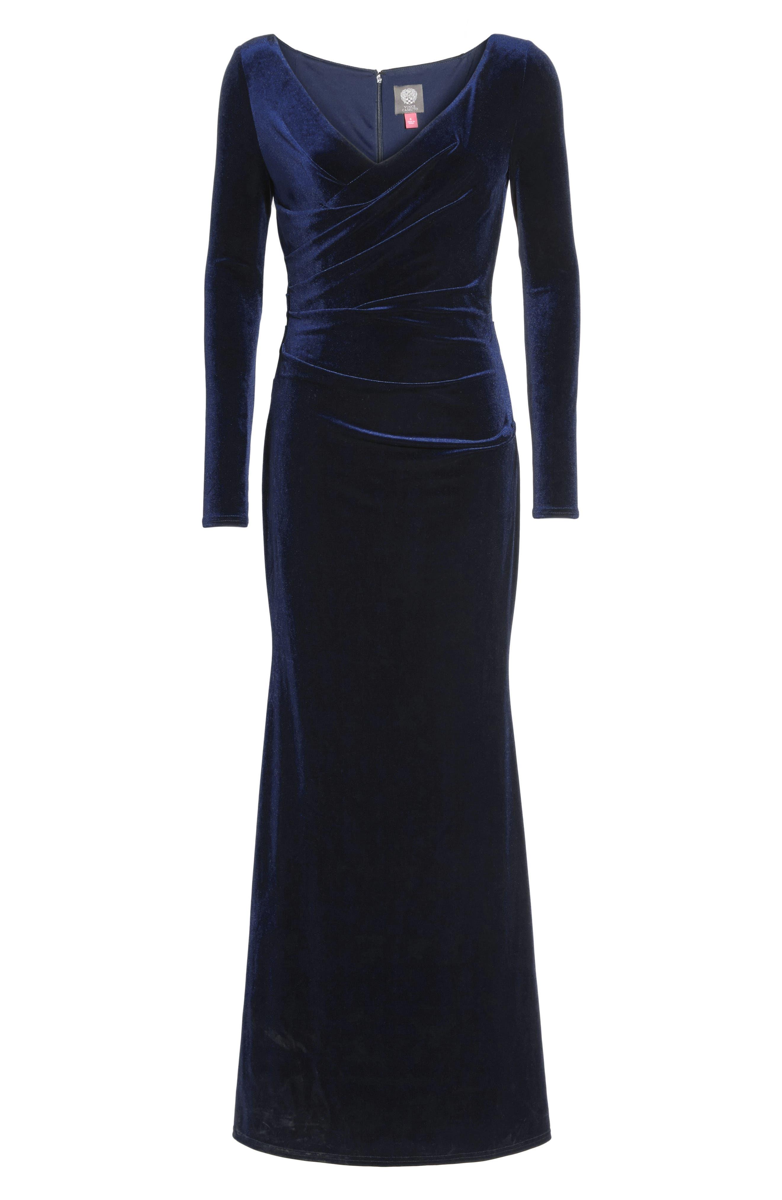 Velvet Gown,                             Alternate thumbnail 8, color,