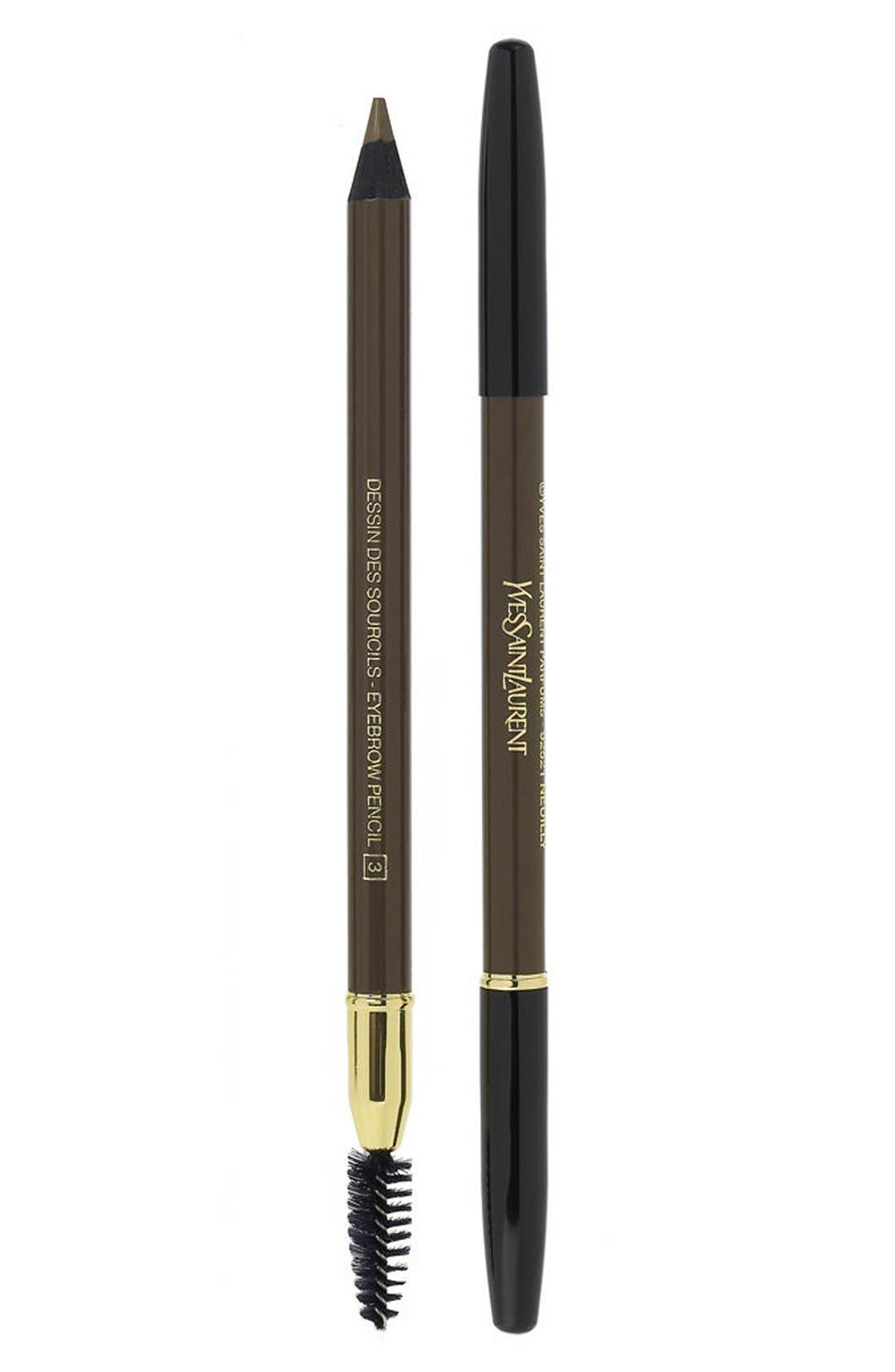 Yves Saint Laurent Eyebrow Pencil - 003 Glazed Brown