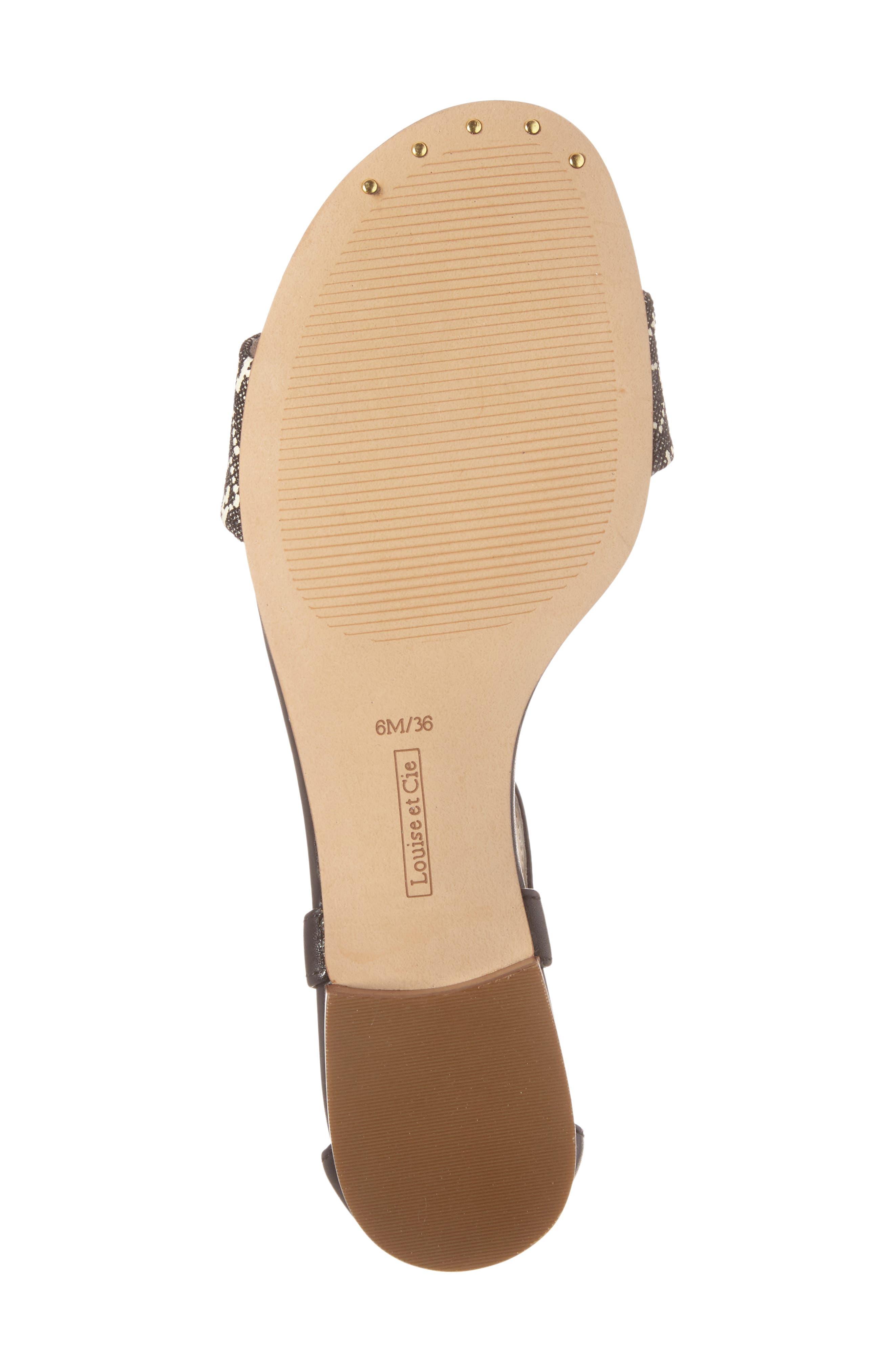 Adley Ankle Strap Sandal,                             Alternate thumbnail 4, color,                             002