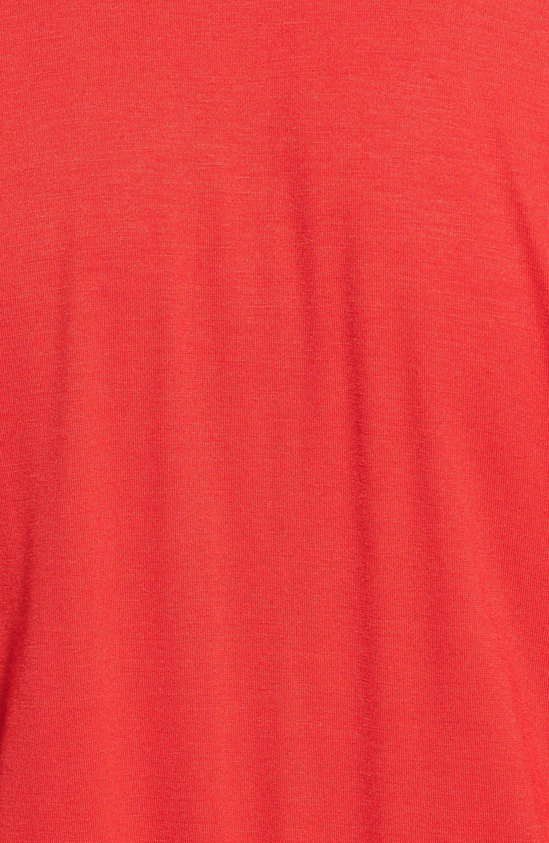 Short Sleeve Wrap Top Jumpsuit,                             Alternate thumbnail 13, color,
