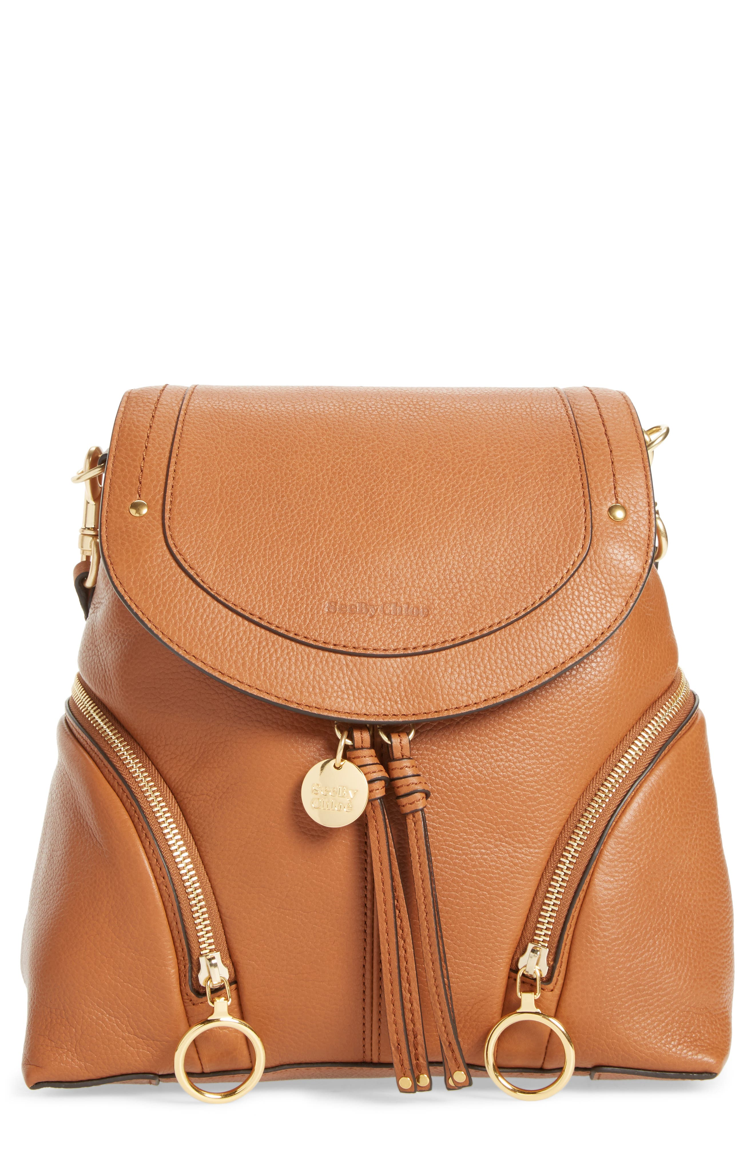 See By Chloe Leather Backpack -