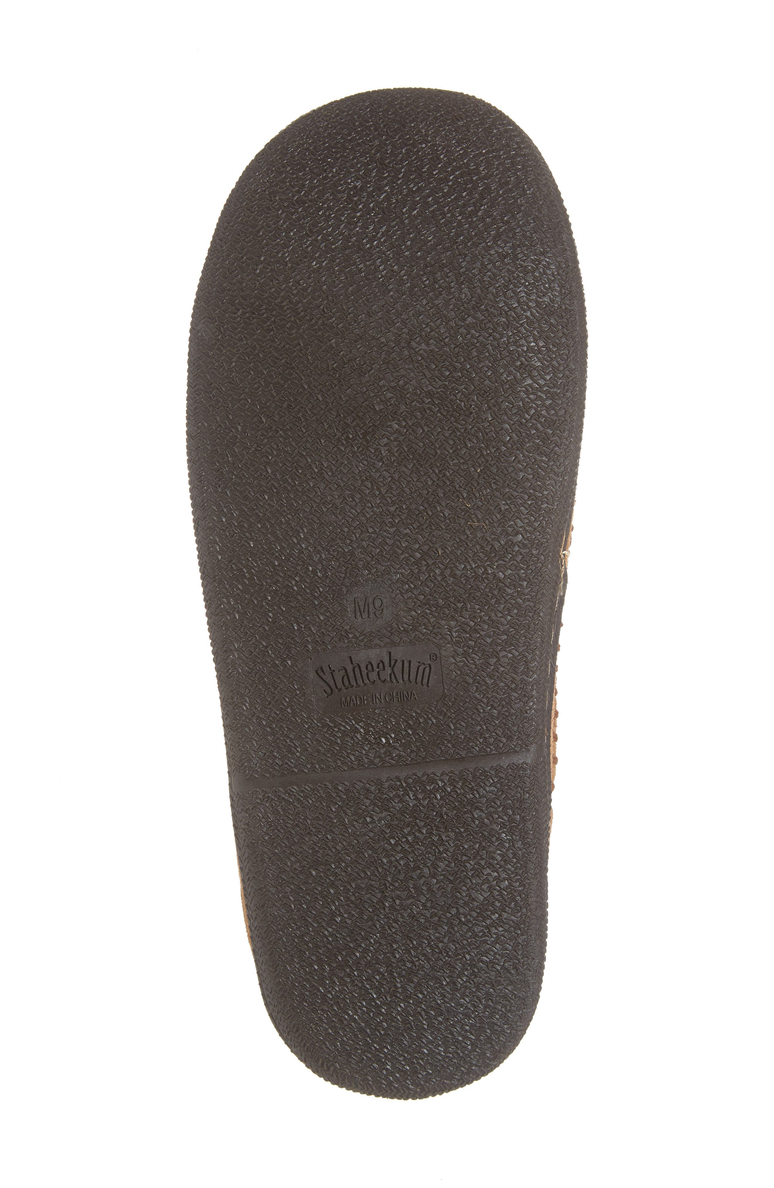 Cypress Flannel Lined Slipper,                             Alternate thumbnail 6, color,