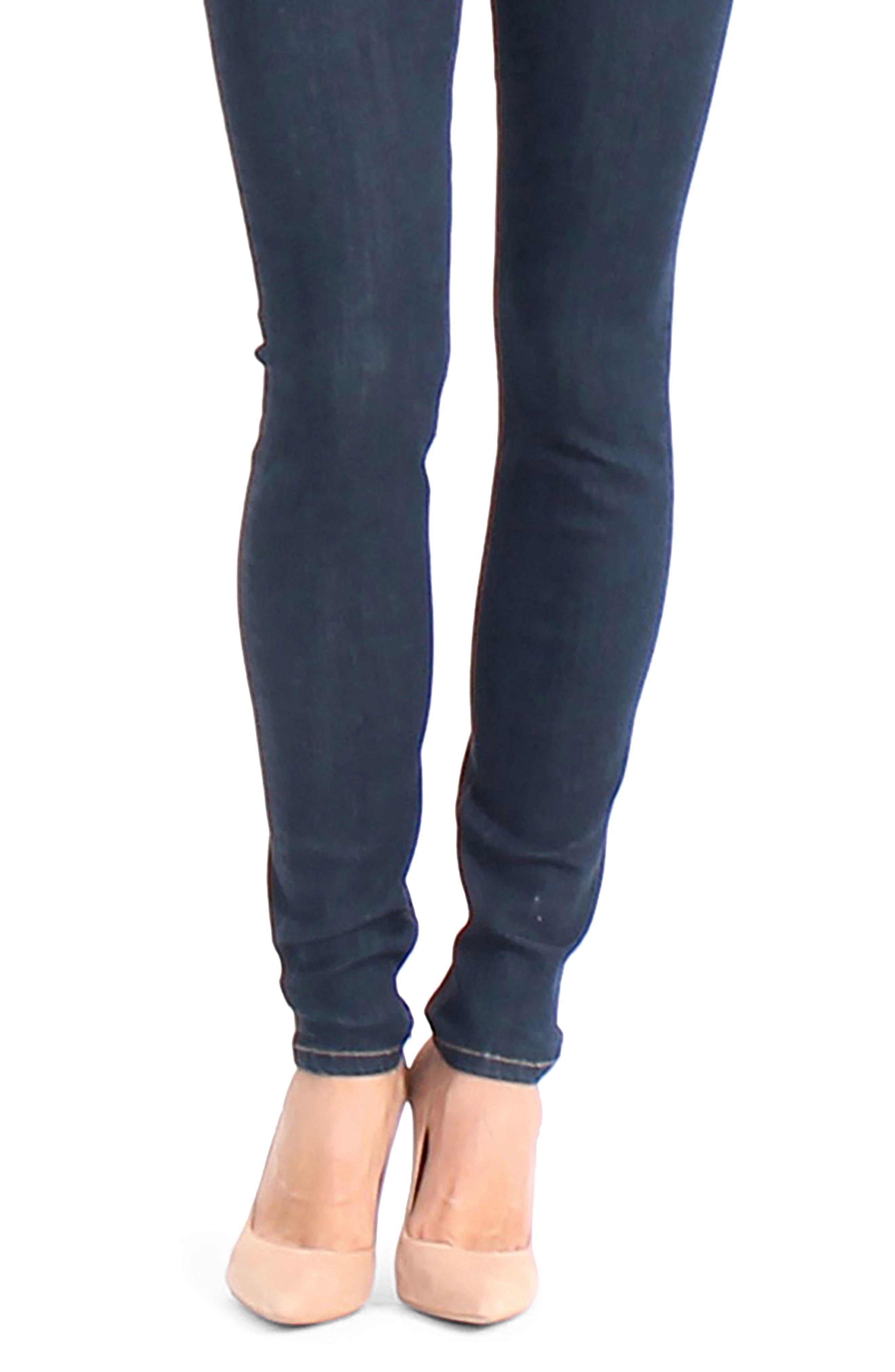 Liza Skinny Jeans,                             Alternate thumbnail 4, color,                             491