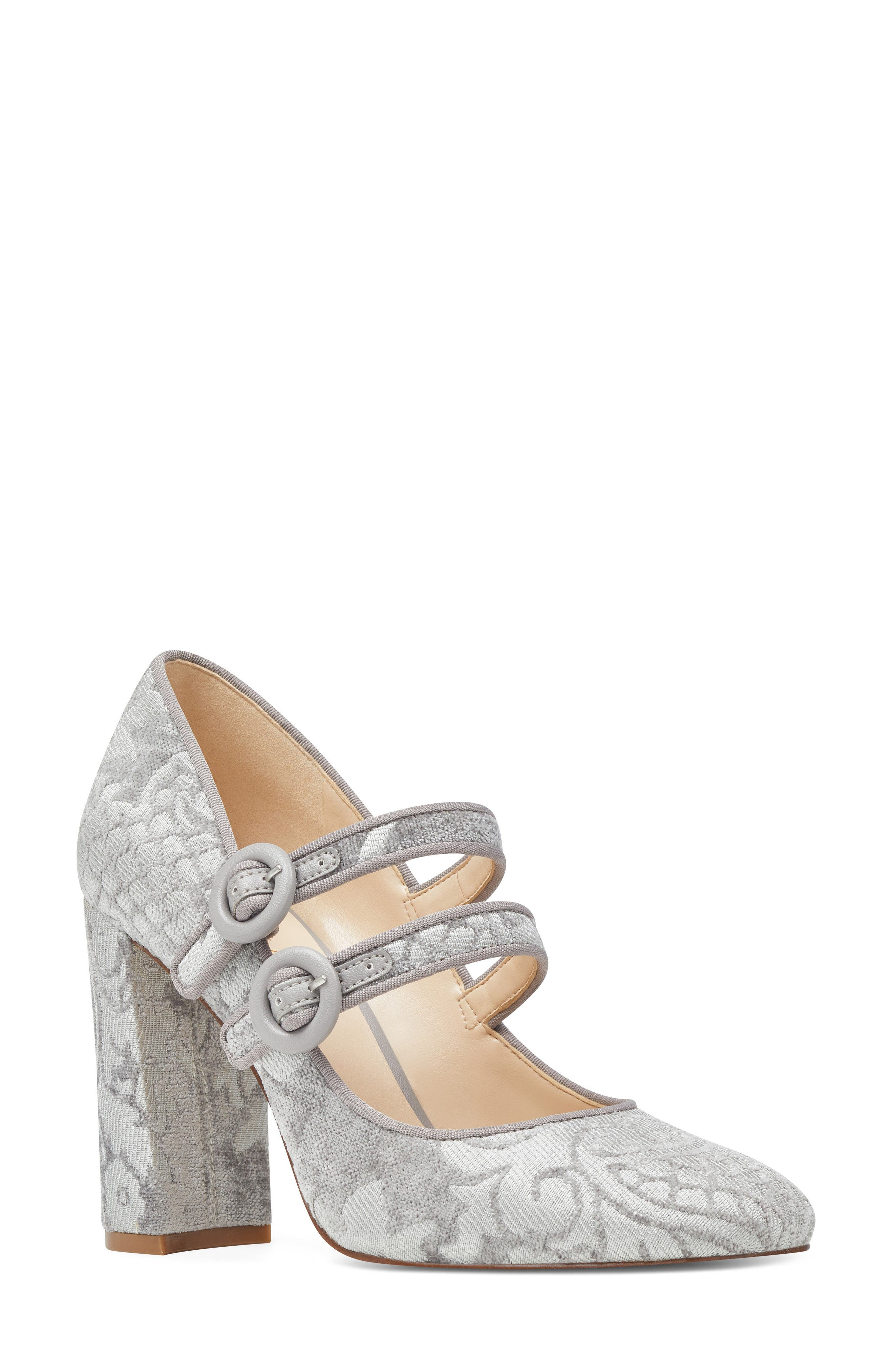 Dabney Double Strap Mary Jane Pump,                             Main thumbnail 2, color,