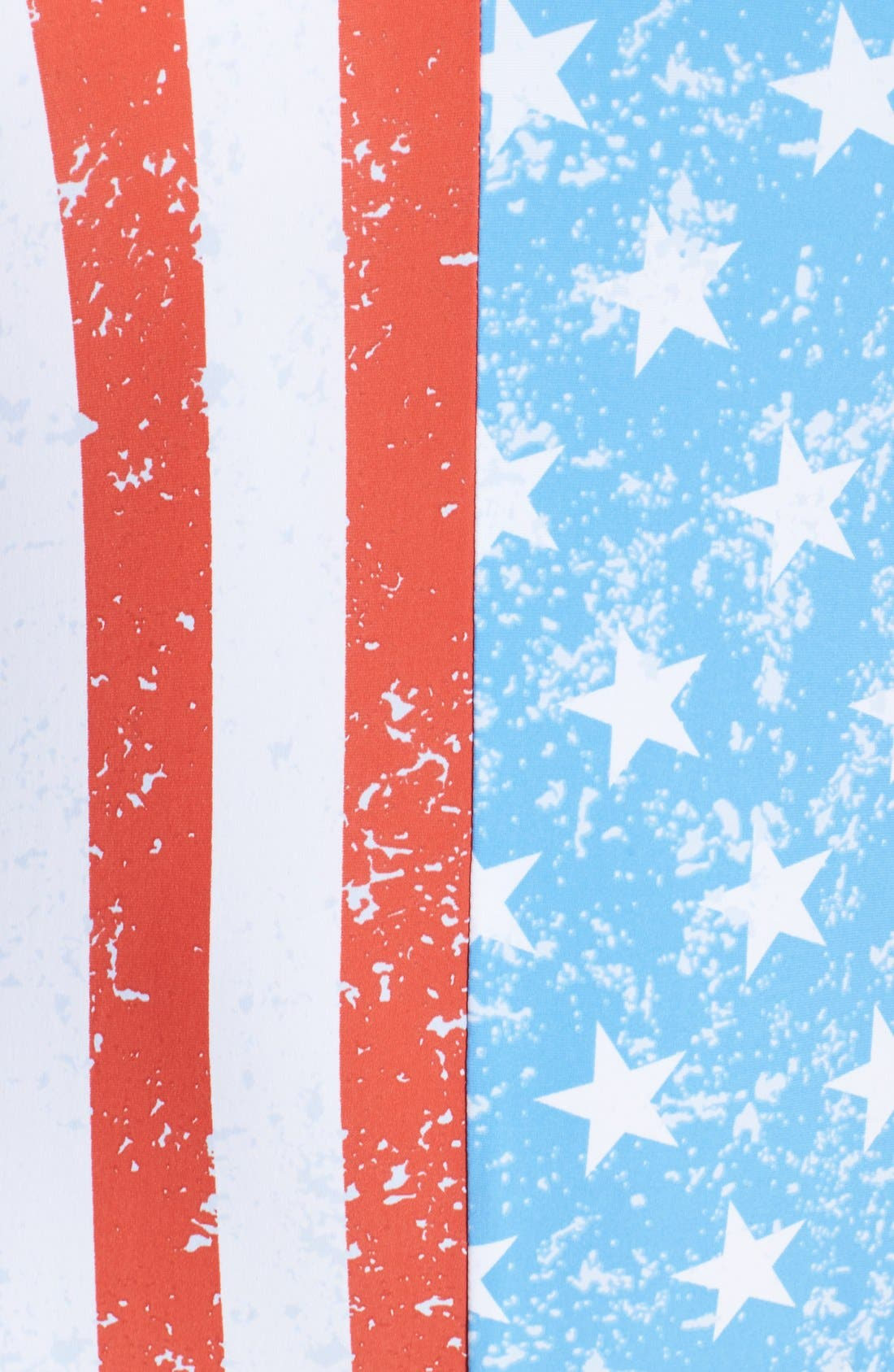 'American Flag - Stars & Stripes' One-Piece Swimsuit,                             Alternate thumbnail 2, color,                             400
