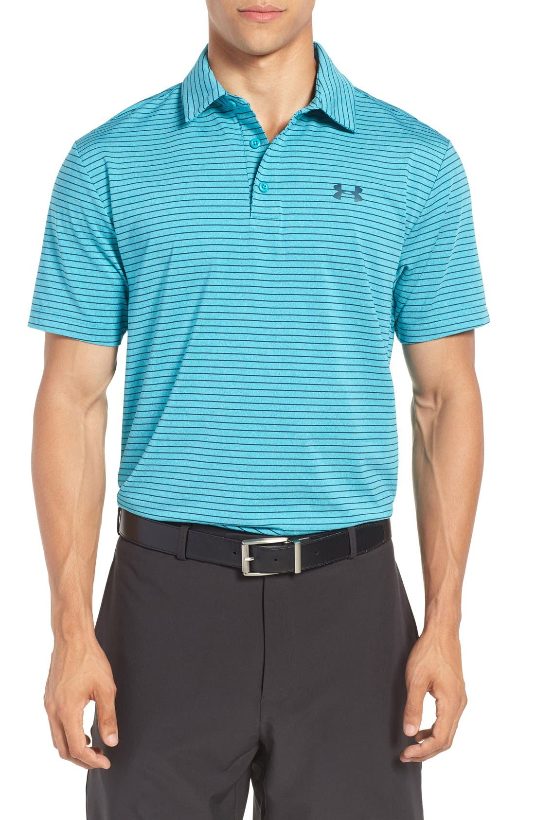 'Playoff' Loose Fit Short Sleeve Polo,                             Main thumbnail 43, color,