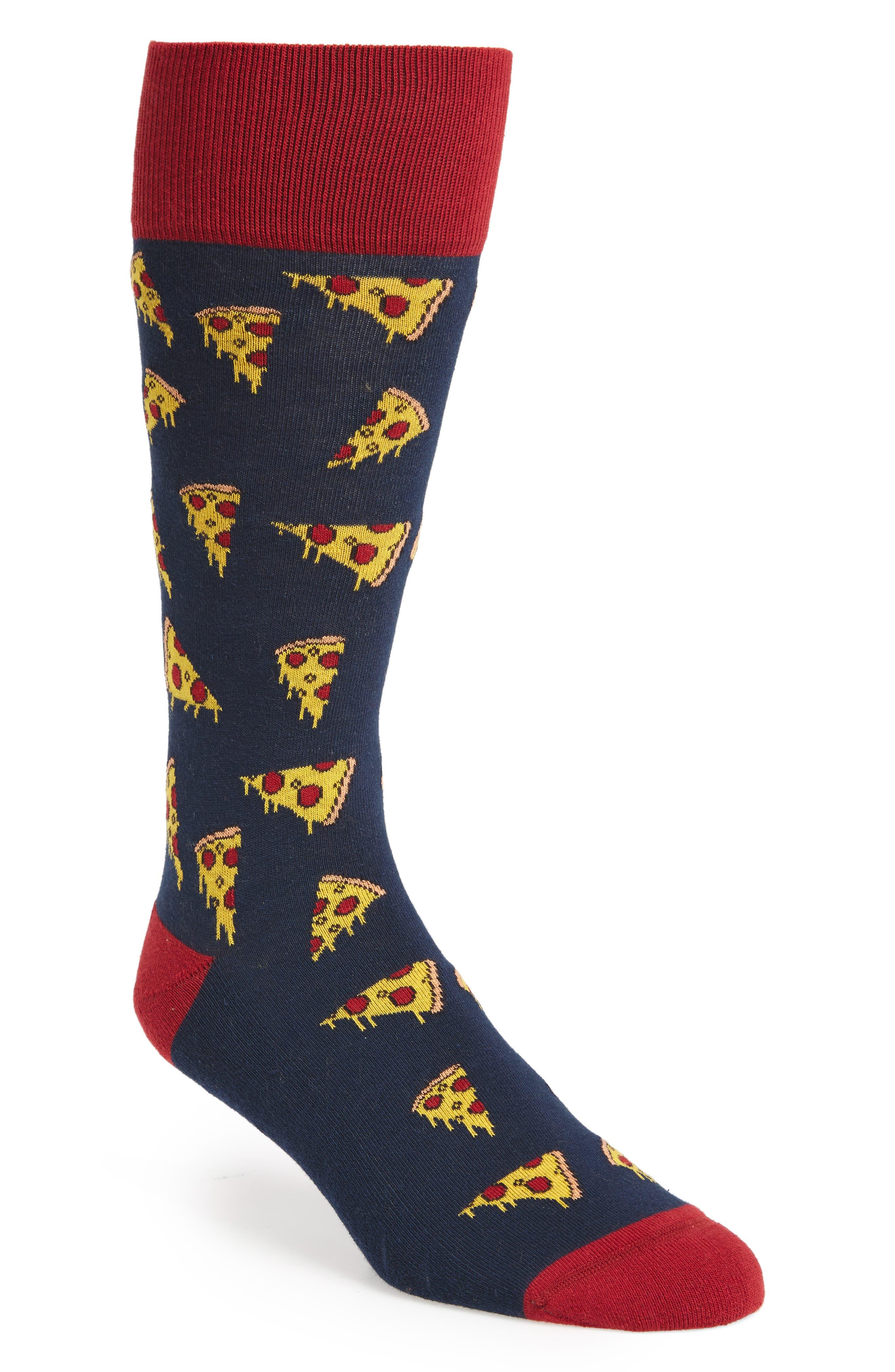 Pizza Socks,                             Main thumbnail 1, color,                             410