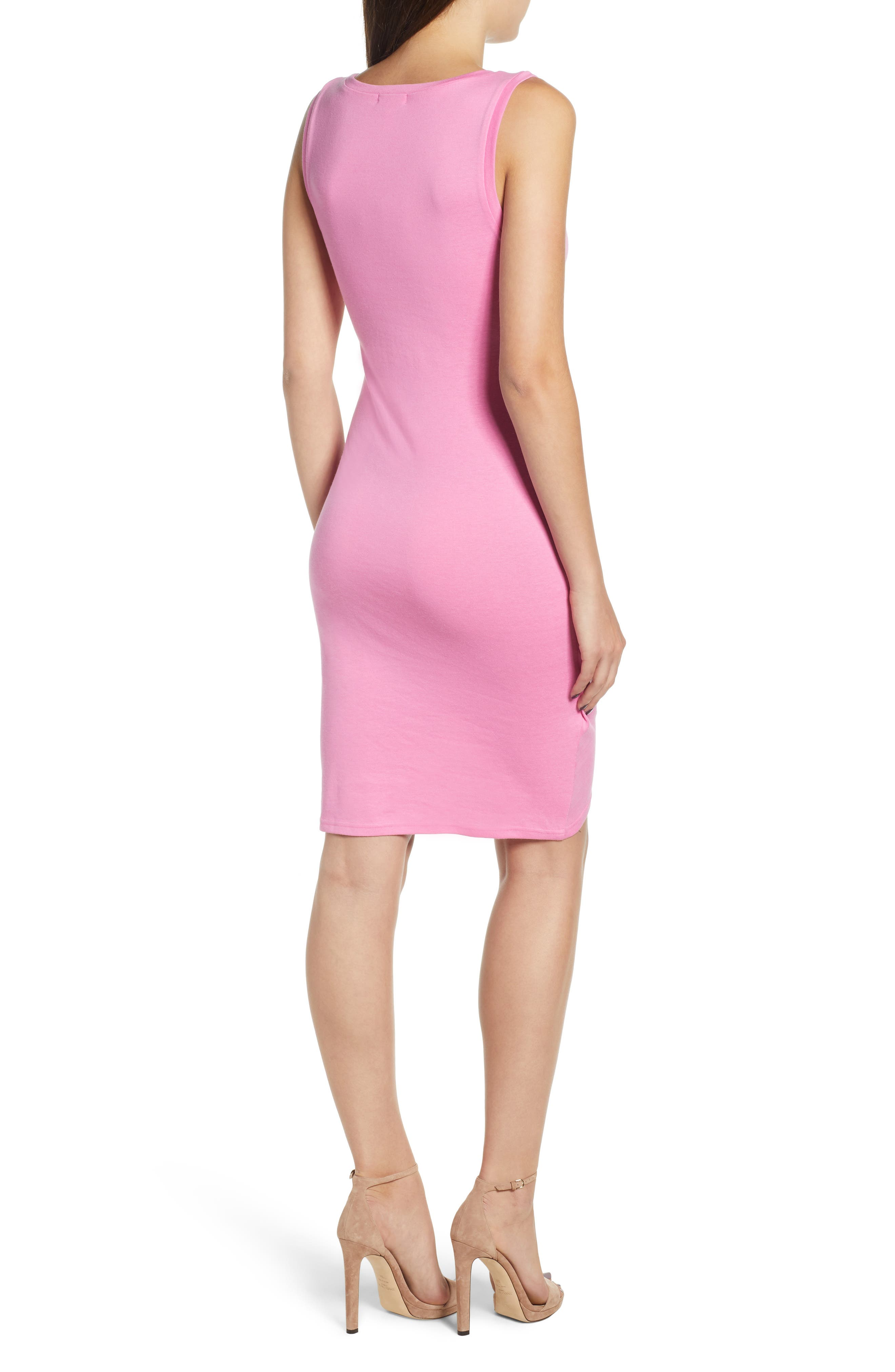 Ruched Body-Con Tank Dress,                             Alternate thumbnail 53, color,
