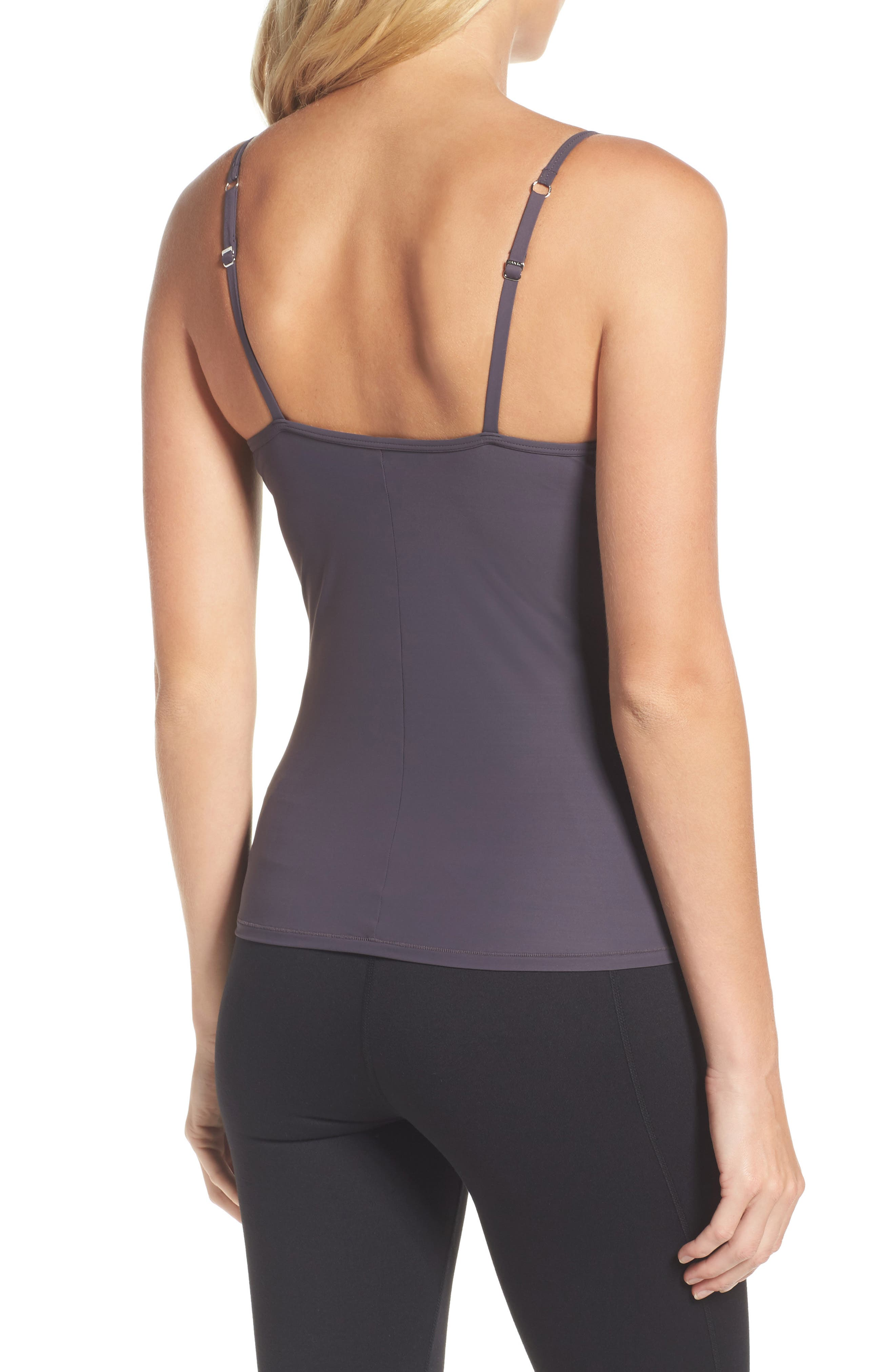 'Allure' Built-In Bra Camisole,                             Alternate thumbnail 9, color,