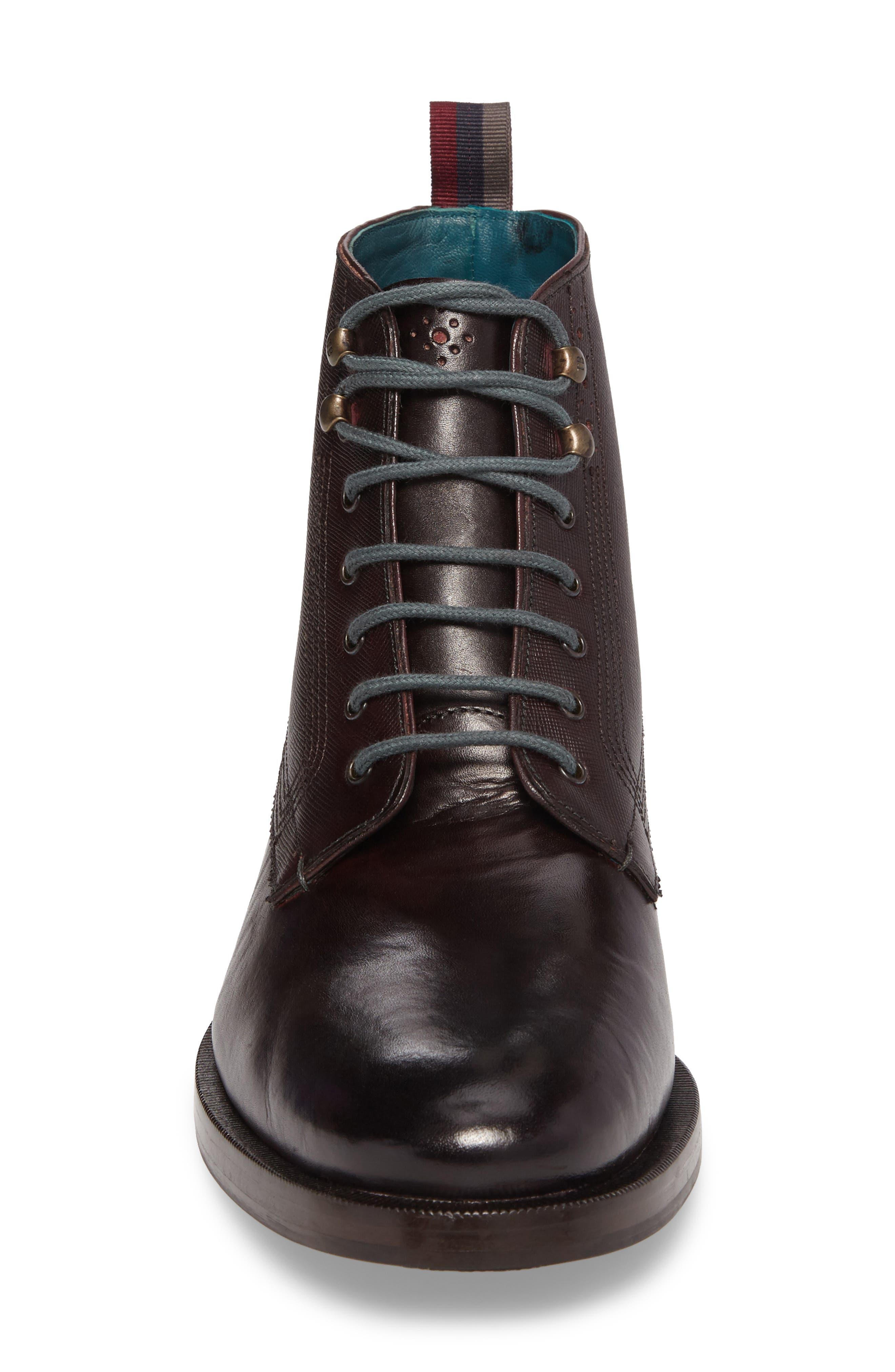 Dhavin Embossed Boot,                             Alternate thumbnail 8, color,