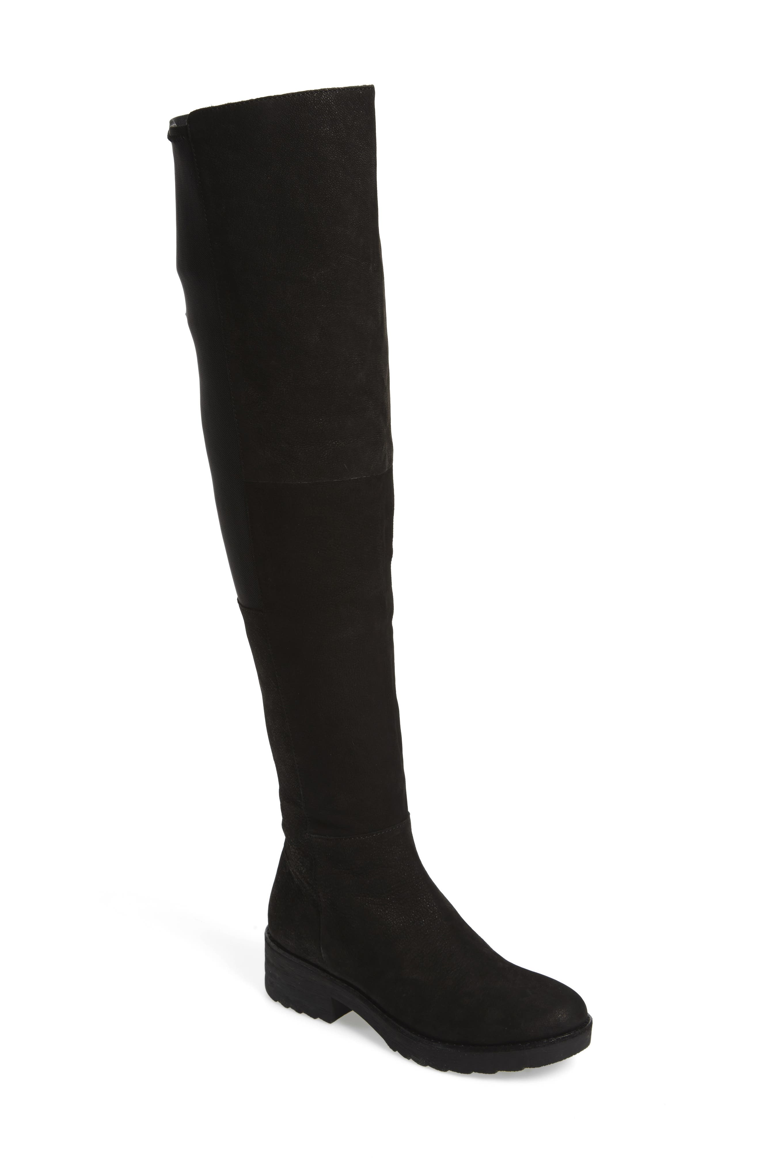 Loft Over the Knee Boot,                             Main thumbnail 1, color,                             001
