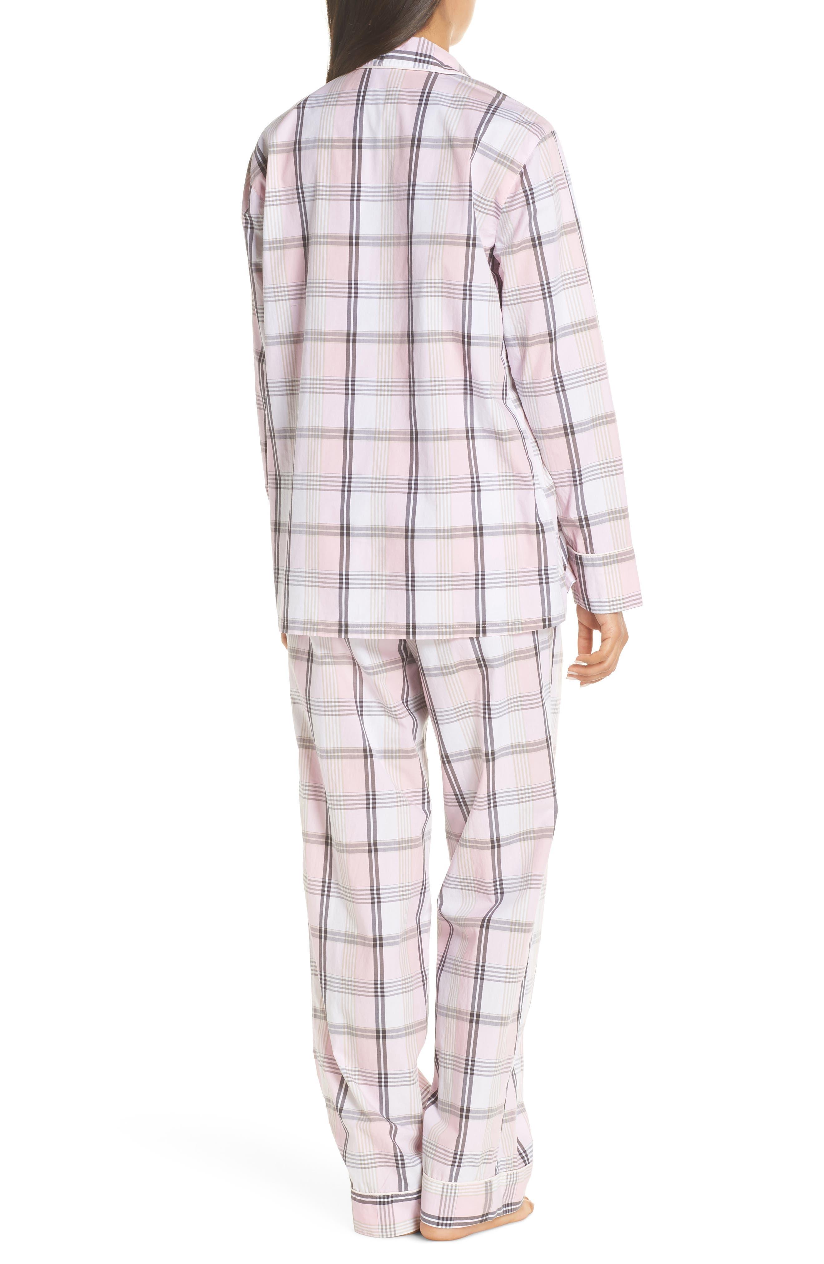 Cotton Pajamas,                             Alternate thumbnail 2, color,                             PINK COAL