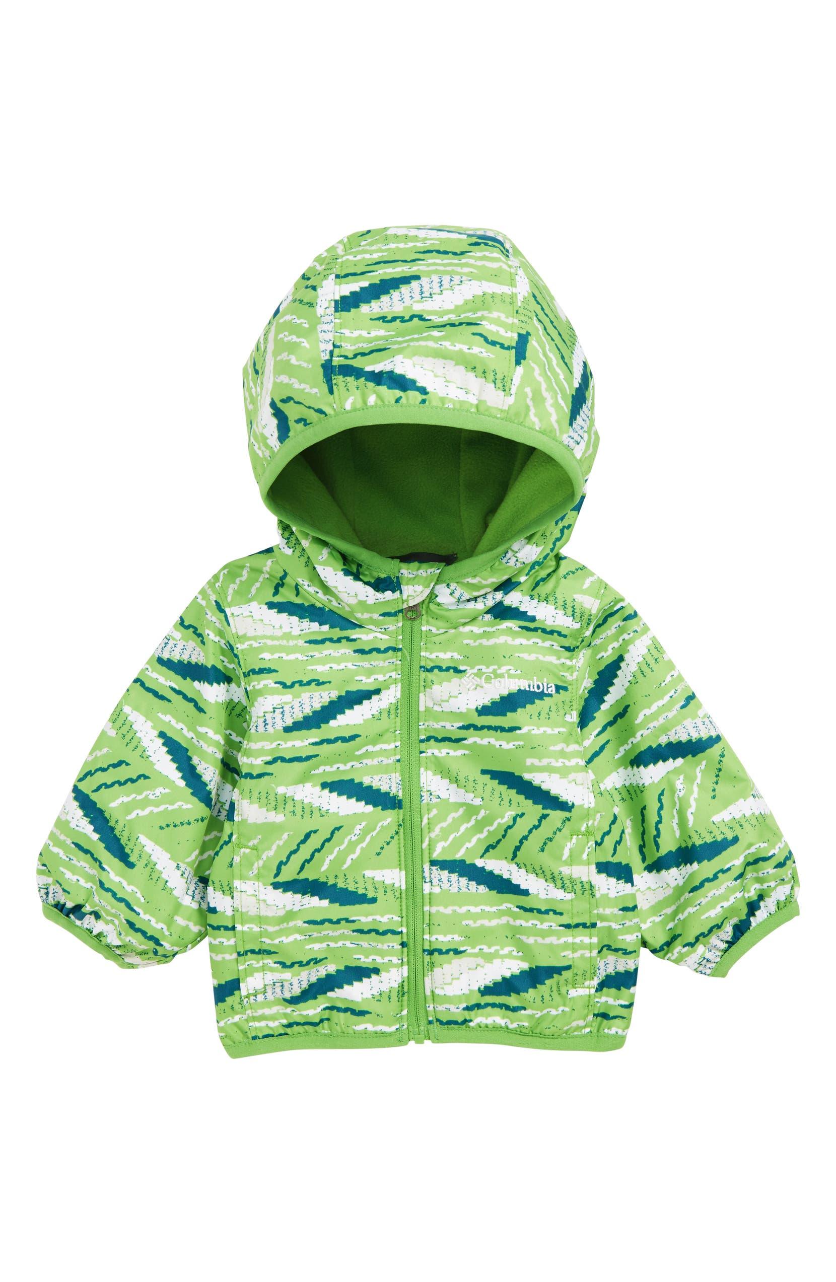 511c54fef Columbia Mini Pixel Grabber™ II Water Resistant Hooded Jacket (Baby ...