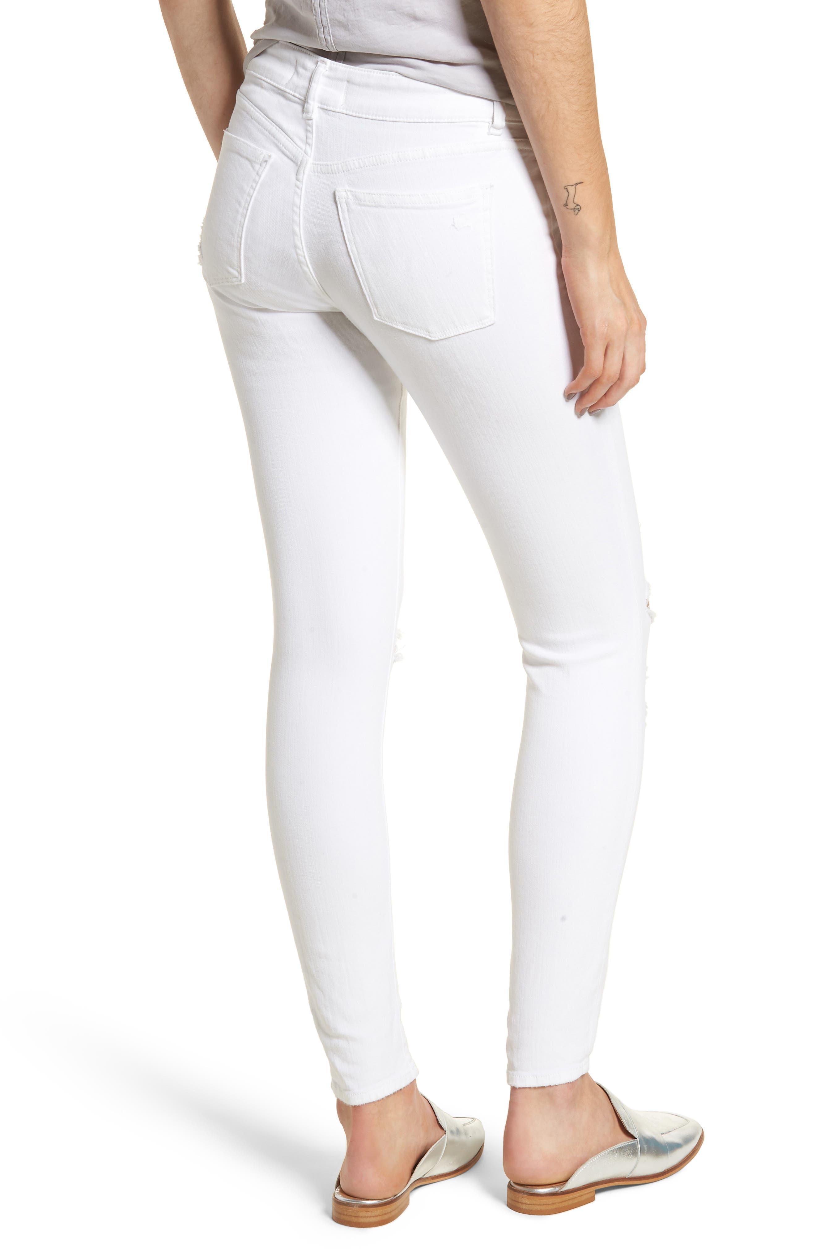 Emma Power Legging Jeans,                             Alternate thumbnail 2, color,                             100
