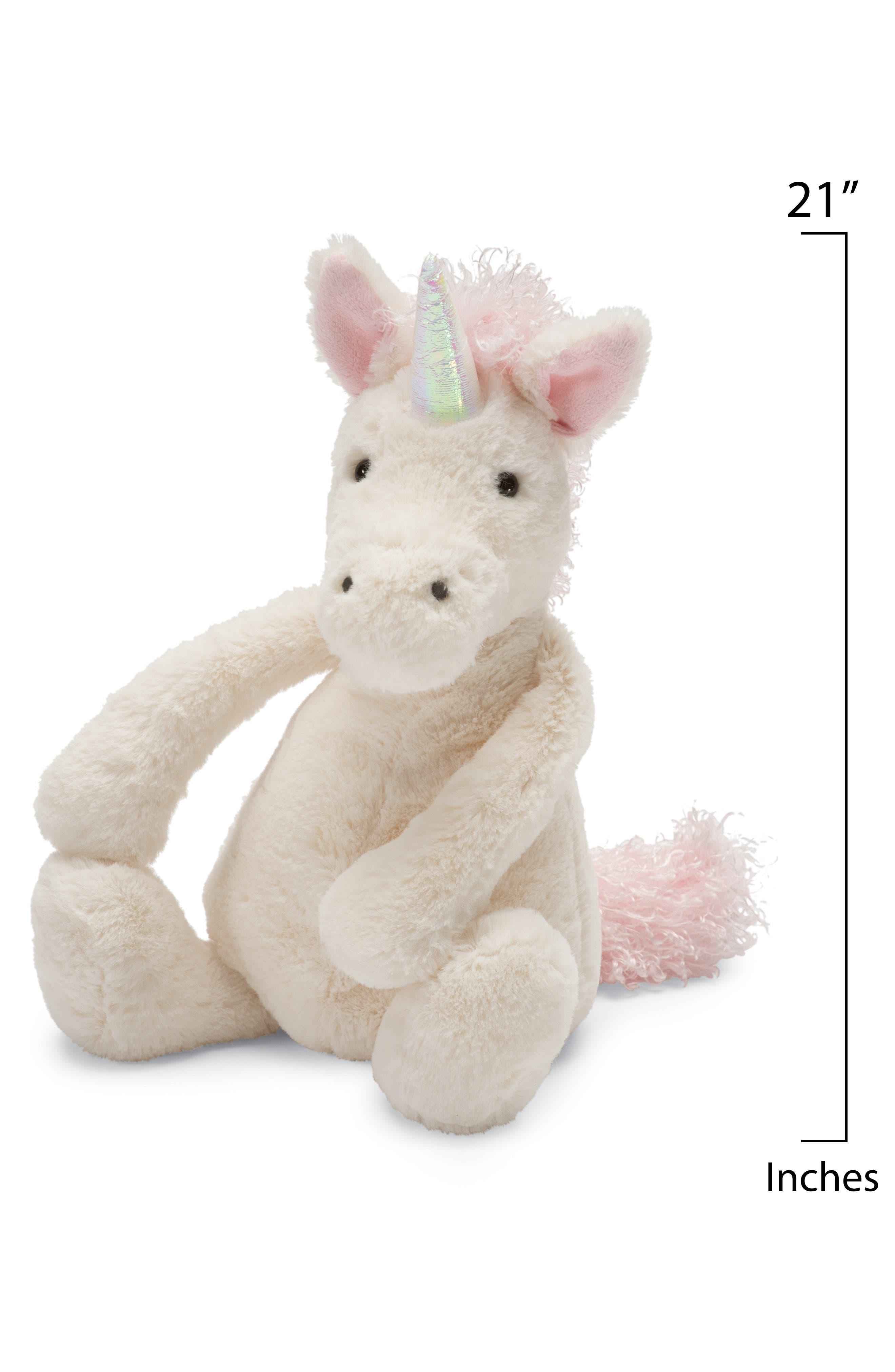 'Huge Bashful Unicorn' Stuffed Animal,                             Alternate thumbnail 2, color,                             CREAM