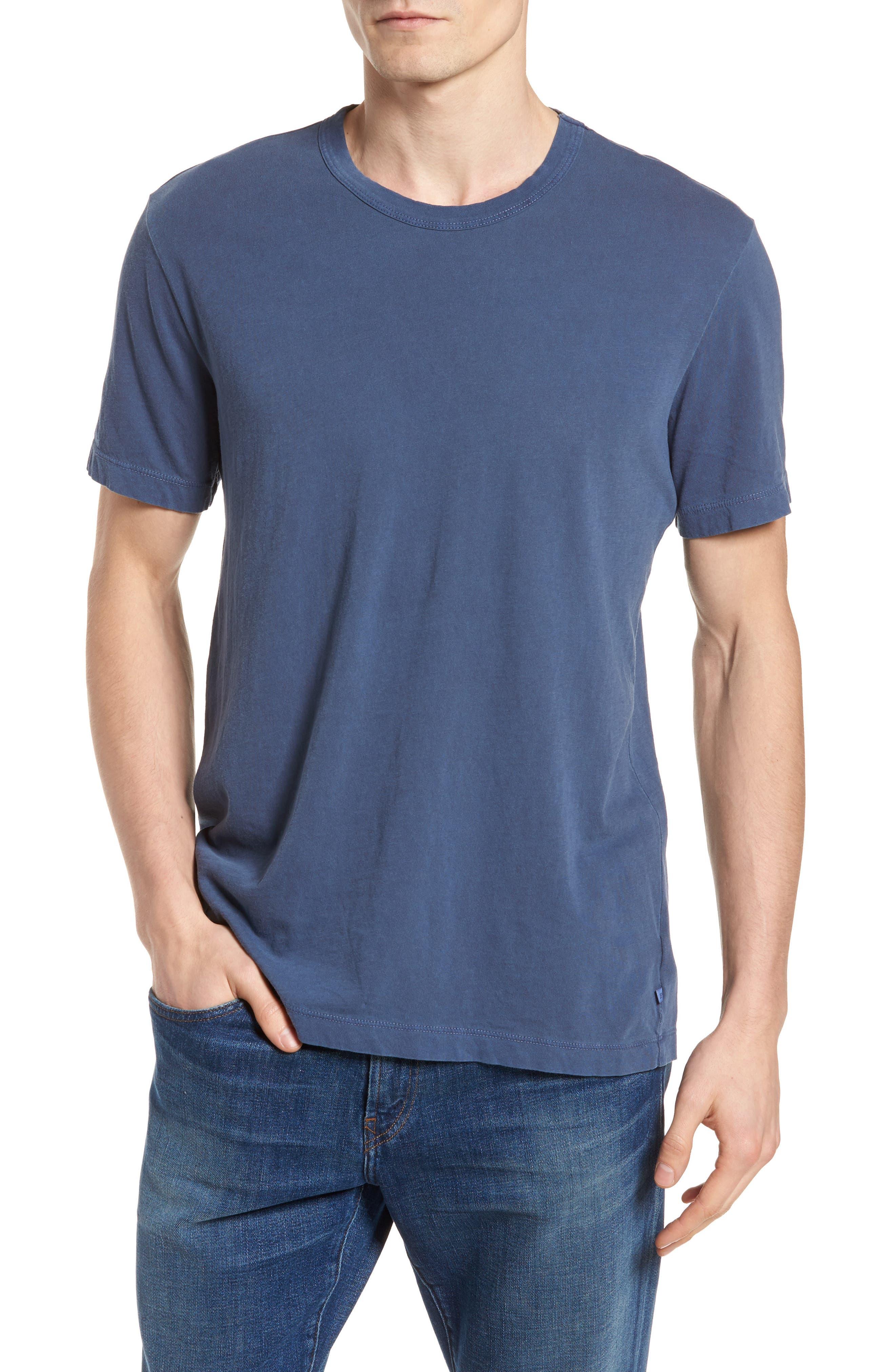 Checkerboard Crewneck T-Shirt,                             Main thumbnail 3, color,