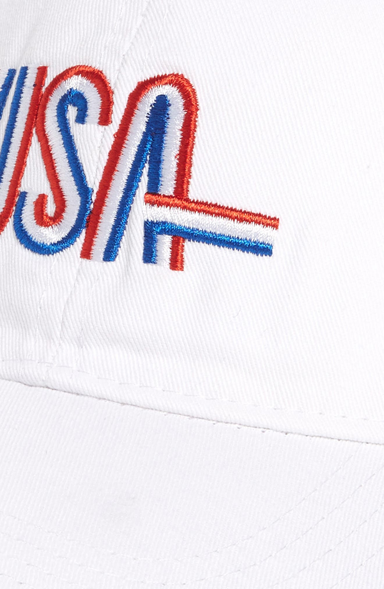 USA Baseball Cap,                             Alternate thumbnail 6, color,