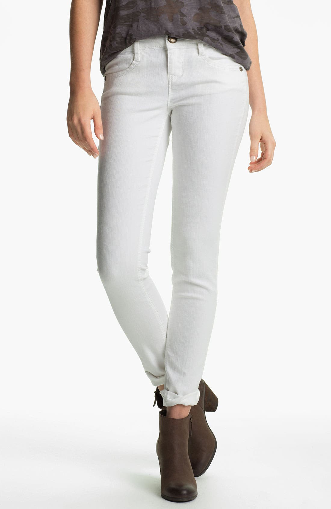 Skinny Jeans,                             Alternate thumbnail 4, color,                             101
