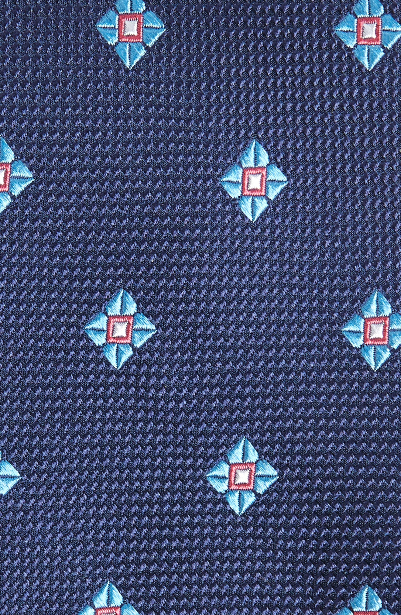 Oxford Neat Silk Tie,                             Alternate thumbnail 2, color,                             410