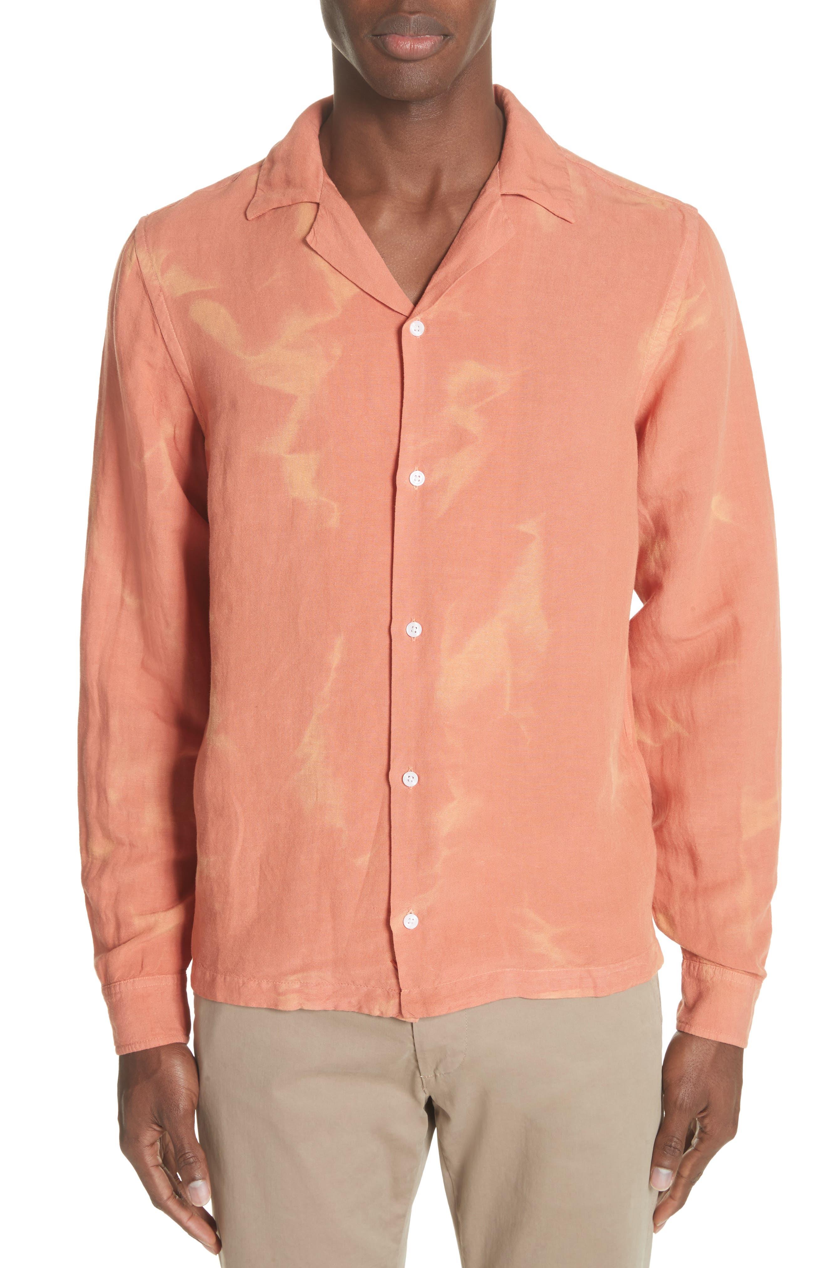 Canty Long Sleeve Camp Shirt,                             Main thumbnail 2, color,