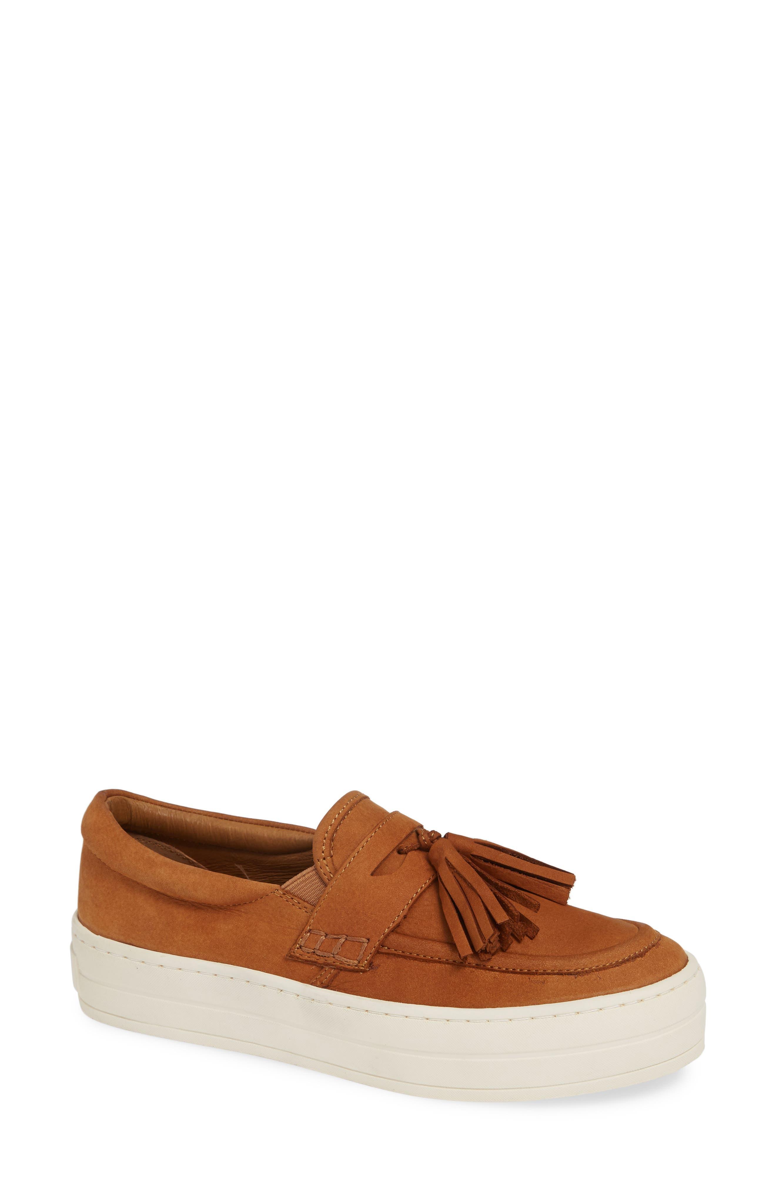 Jslides Hallie Slip-On Sneaker, Brown