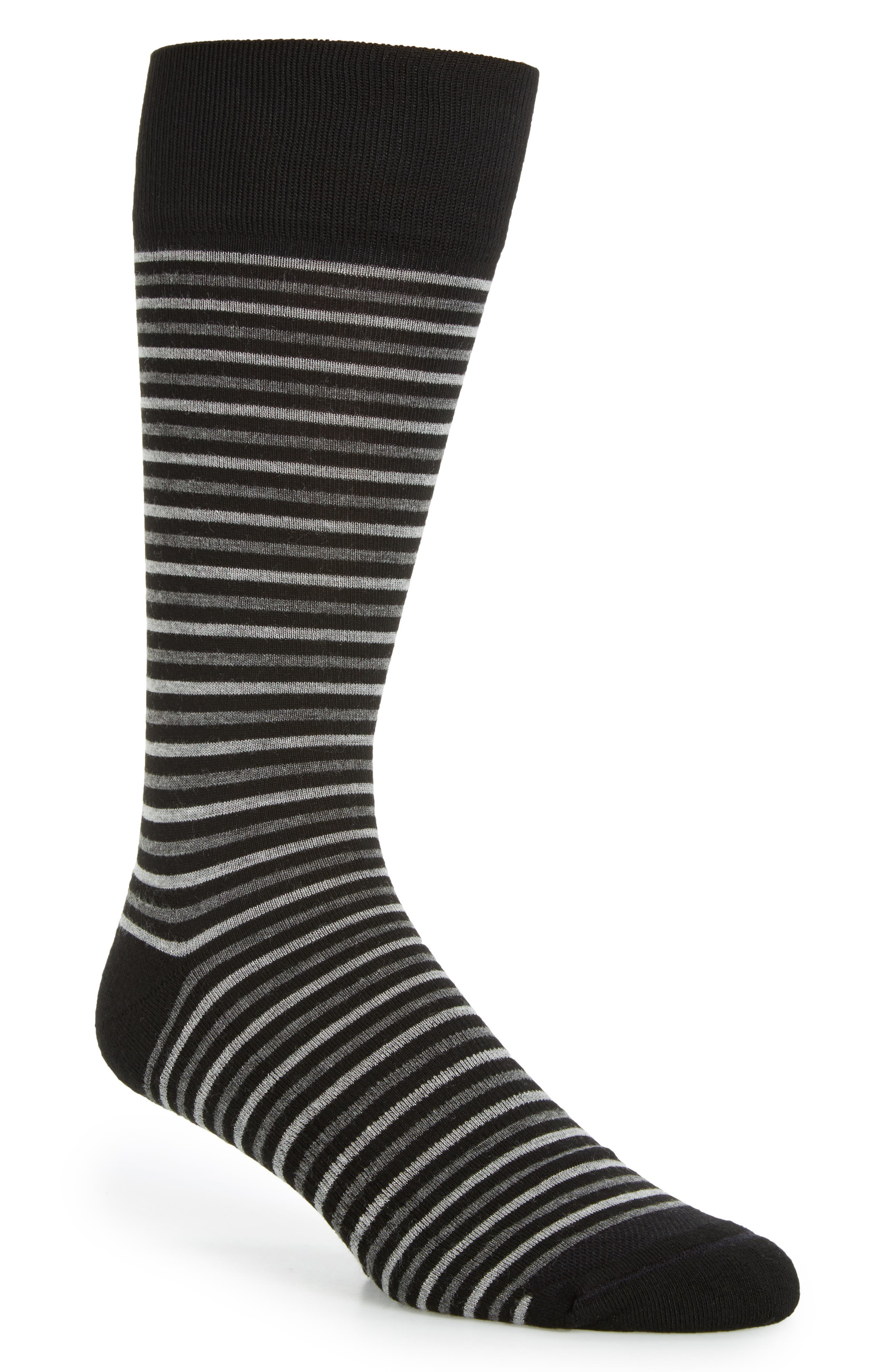 Stripe Socks,                             Main thumbnail 1, color,                             001