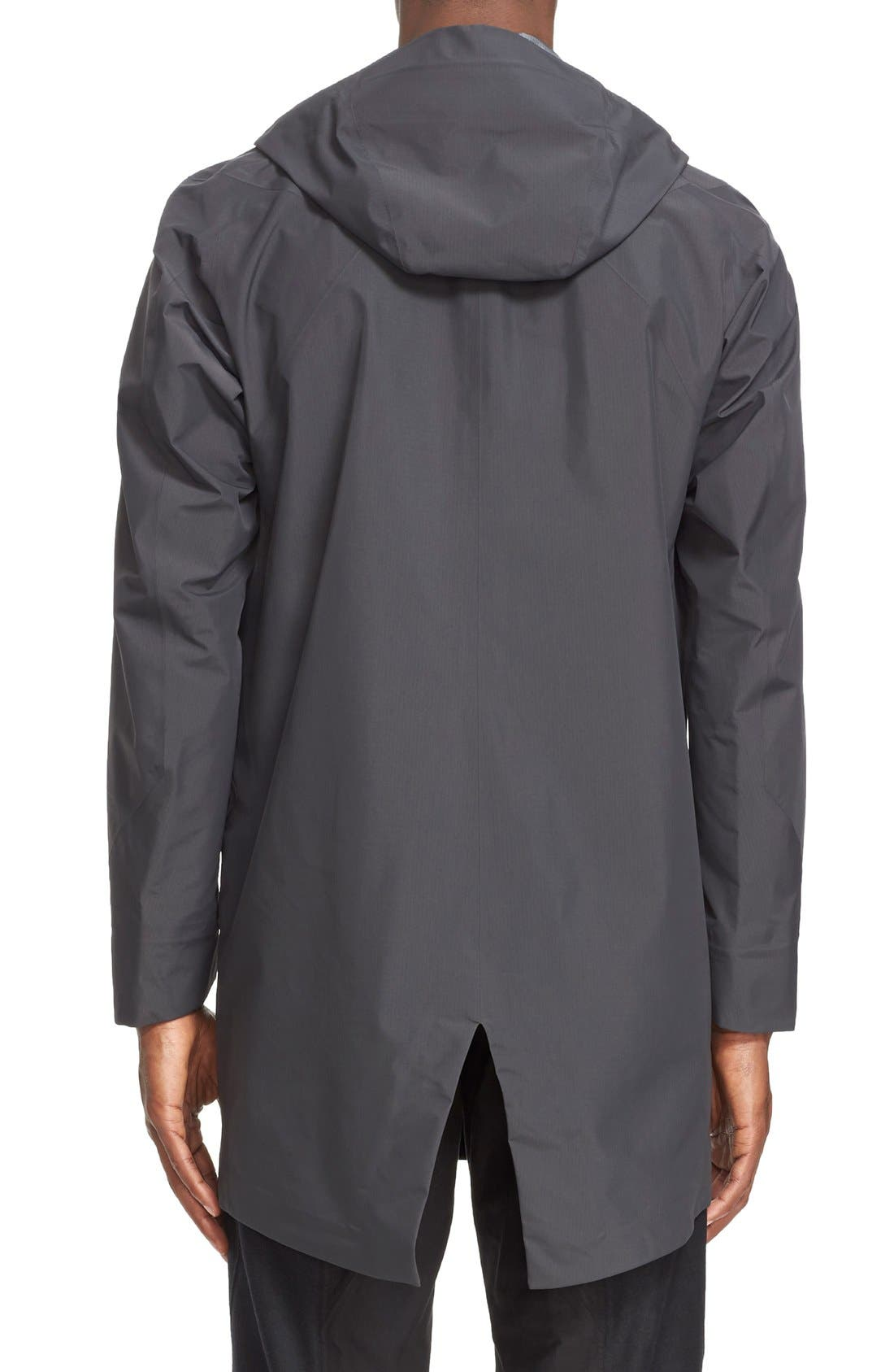'Monitor' Gore-Tex<sup>®</sup> Pro Packable Hooded Jacket,                             Alternate thumbnail 3, color,                             020