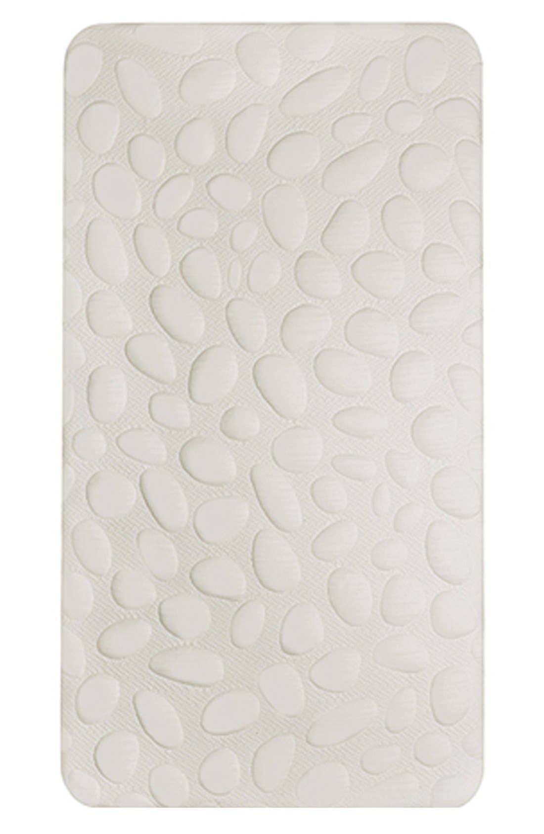 'Pebble Air' Crib Mattress,                             Main thumbnail 1, color,                             CLOUD