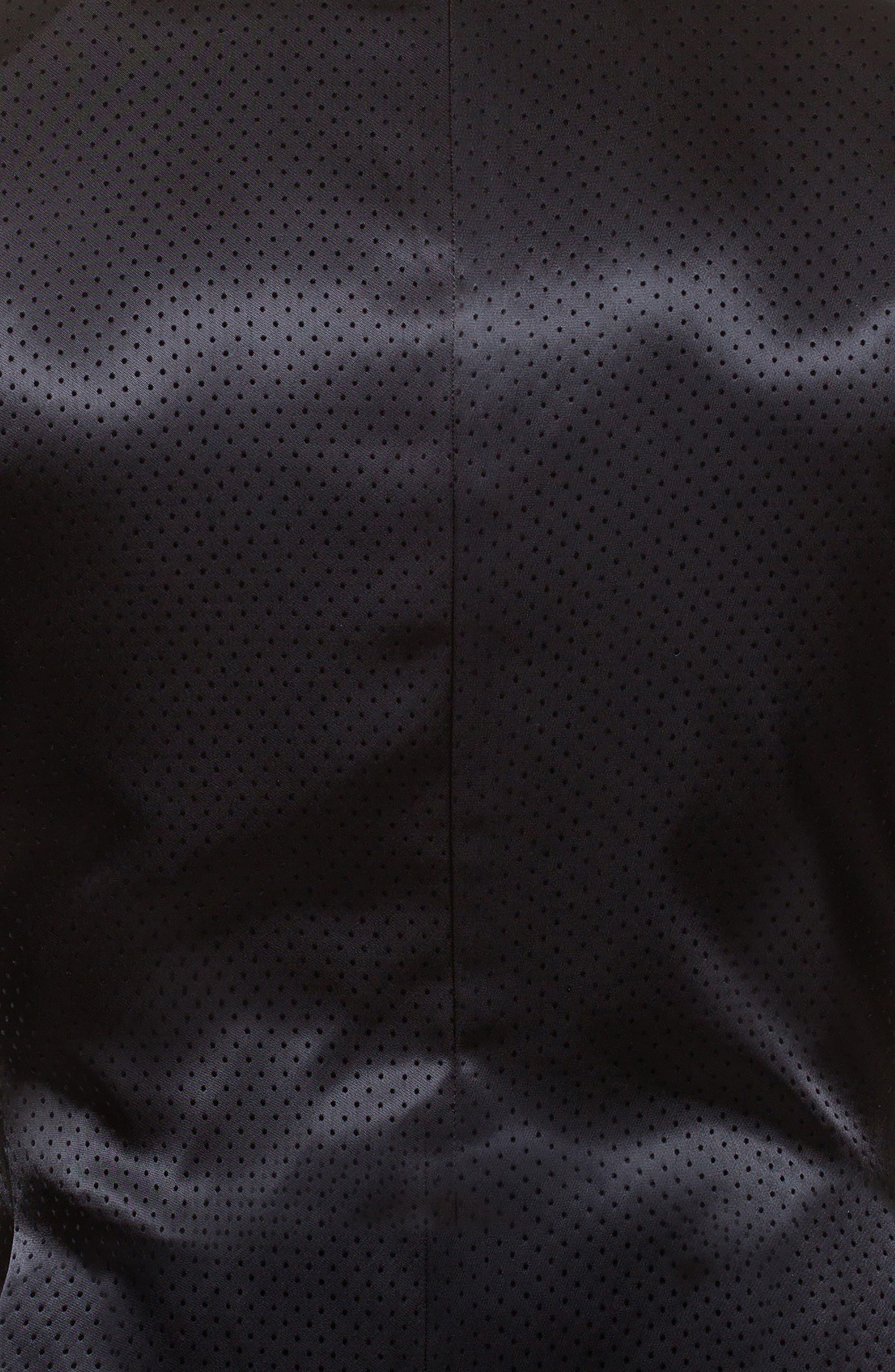 Socrate Pop Sport Coat,                             Alternate thumbnail 4, color,                             BLACK