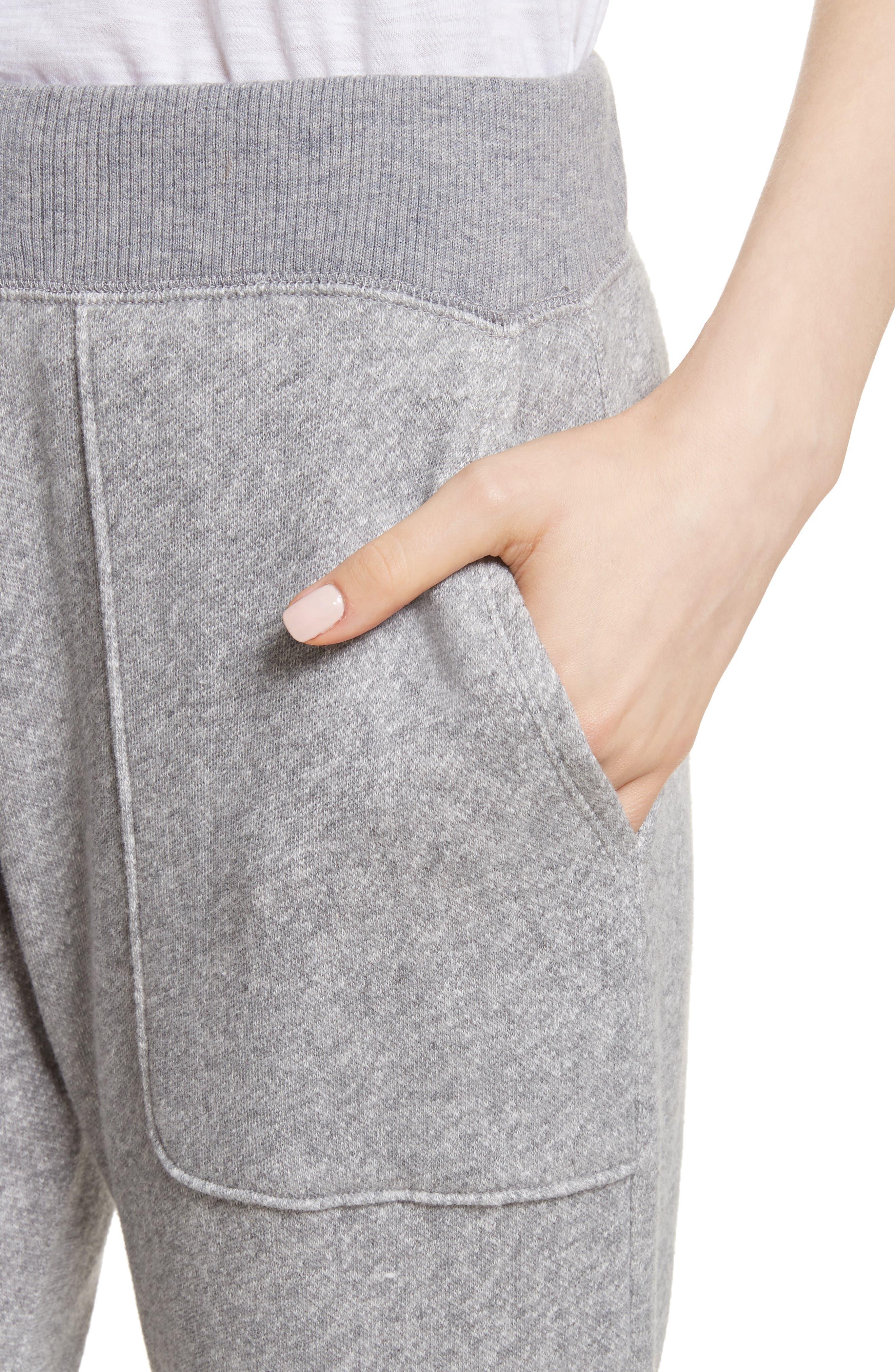 Denicah Cotton Sweatpants,                             Alternate thumbnail 4, color,