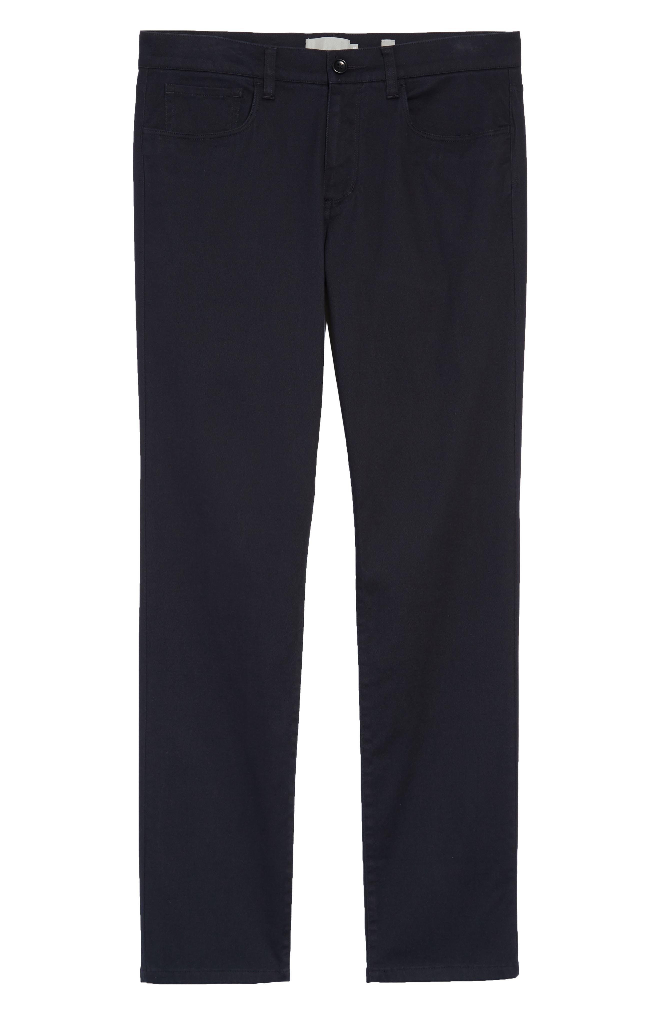 Soho Slim Fit Five-Pocket Pants,                             Alternate thumbnail 3, color,                             COASTAL