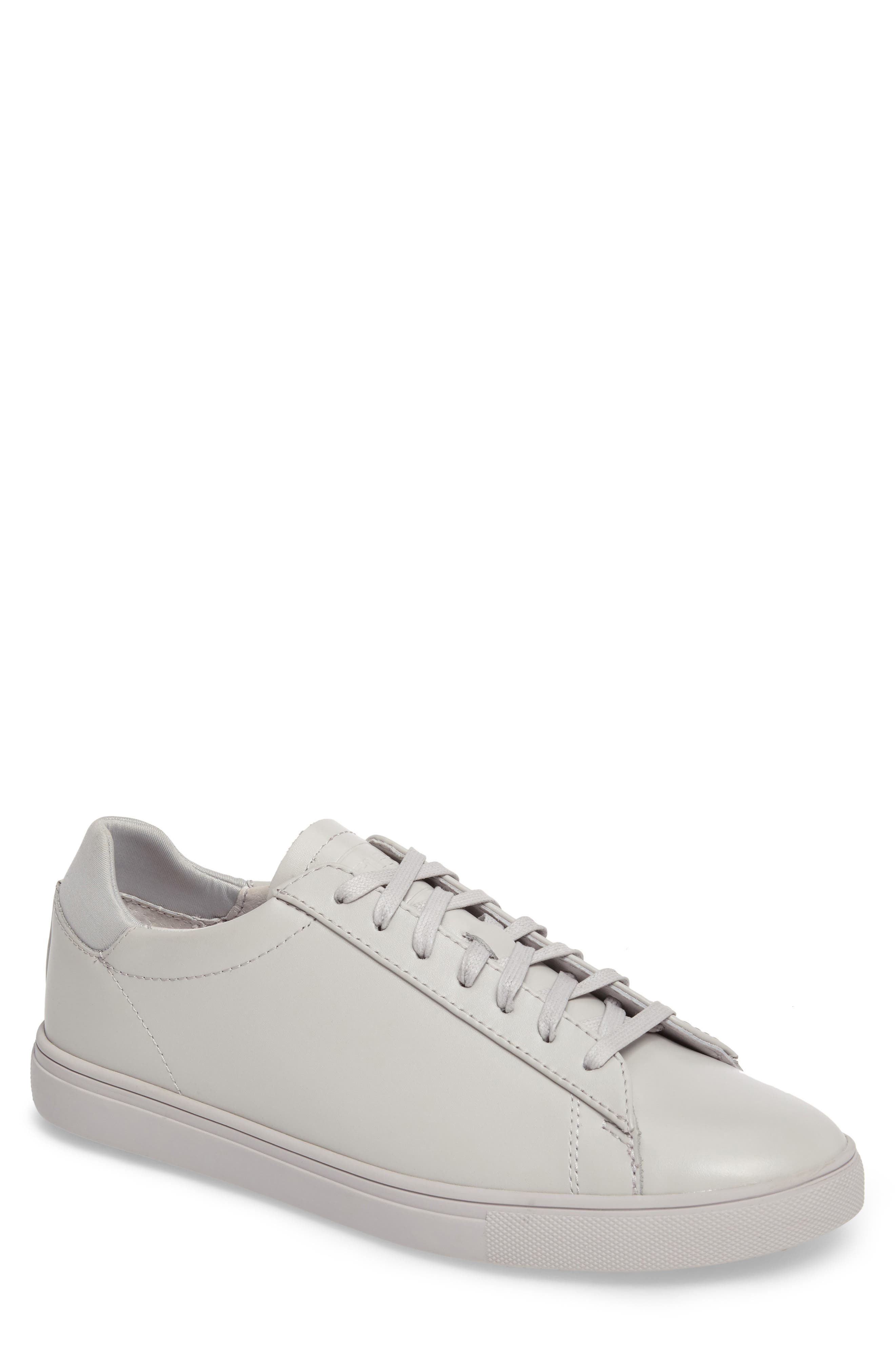 CLAE 'Bradley' Sneaker in Microgray Leather