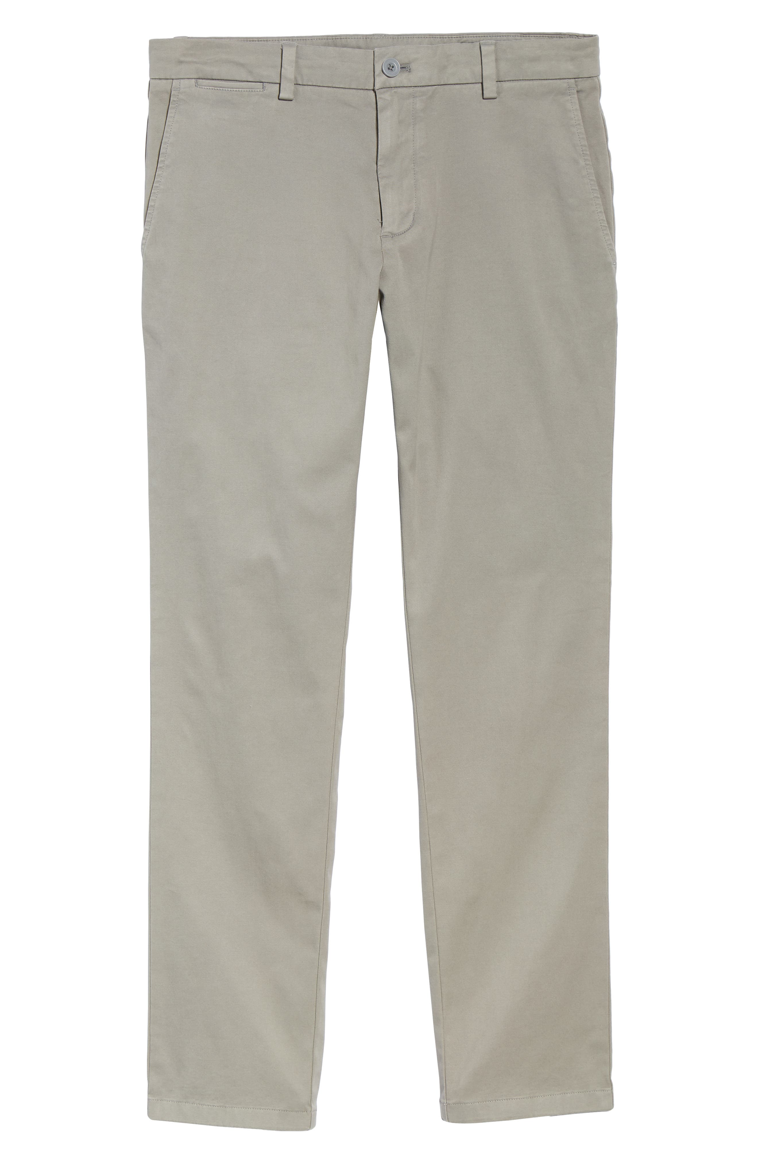 Stretch Slim Fit Pants,                             Alternate thumbnail 6, color,                             ANCHOR GREY