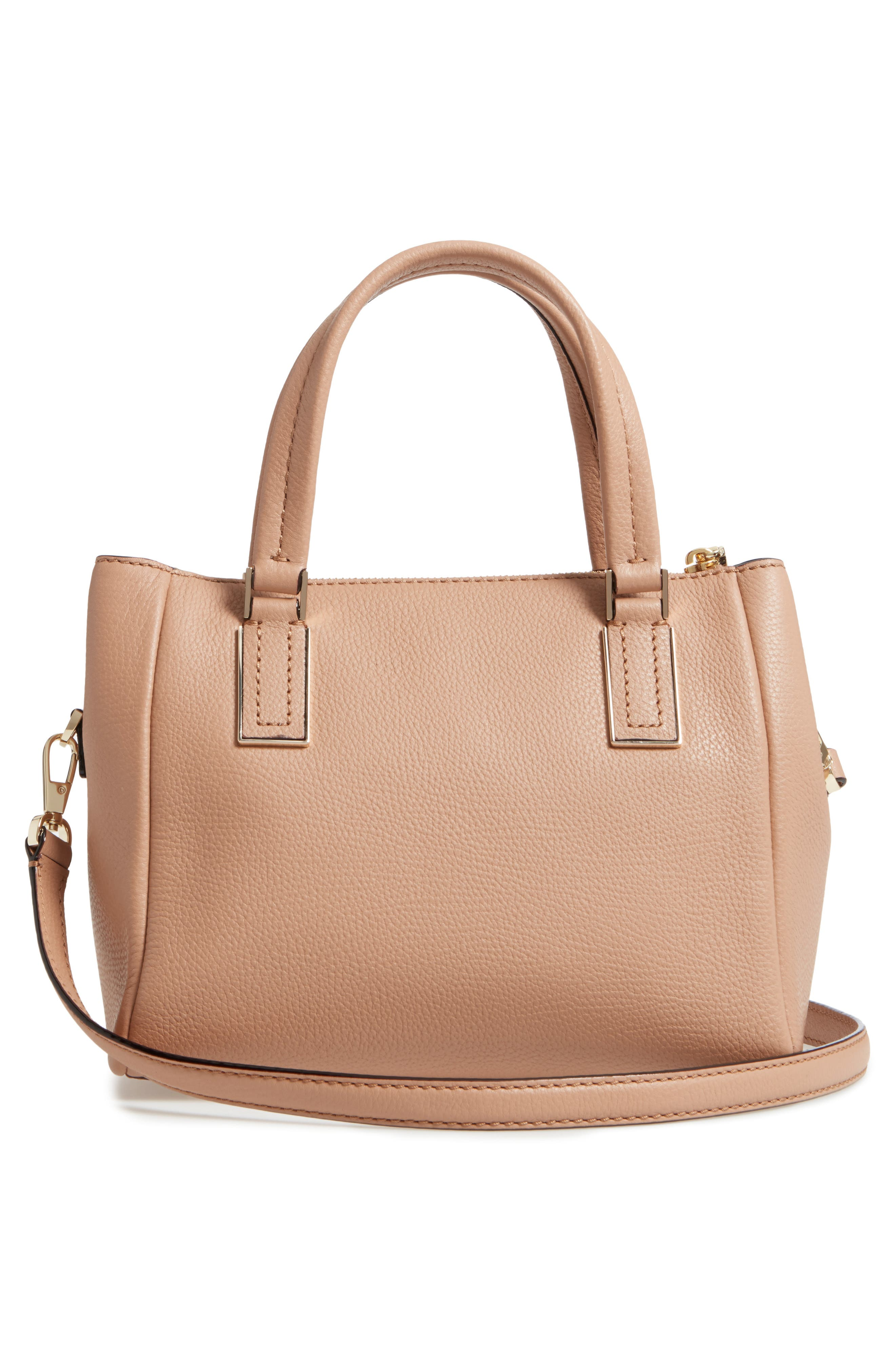 kingston drive - small alena leather satchel,                             Alternate thumbnail 13, color,