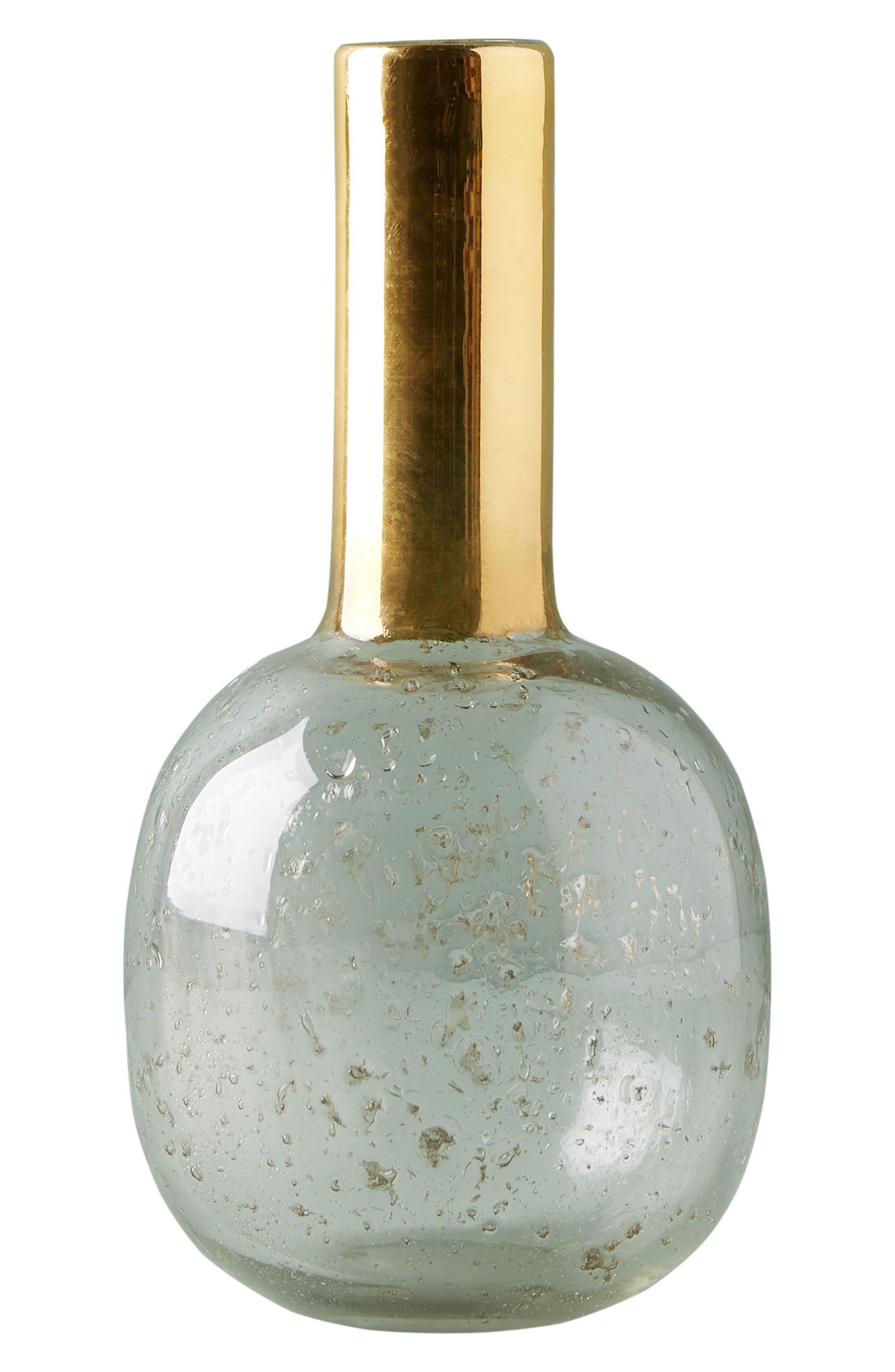 Gilded Sphere Vase,                             Alternate thumbnail 4, color,                             712