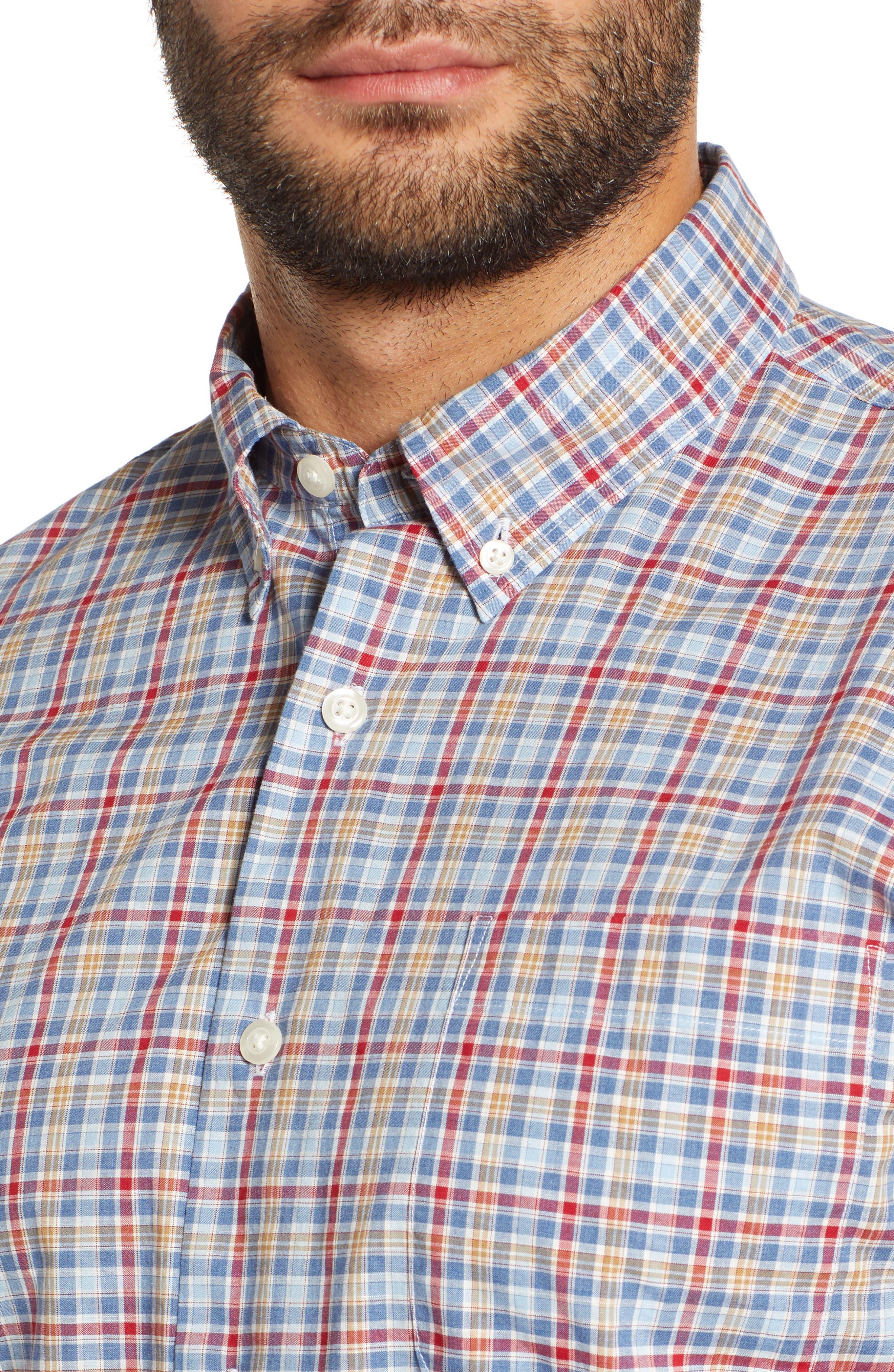 Ellis Classic Fit Sport Shirt,                             Alternate thumbnail 2, color,                             MARINER