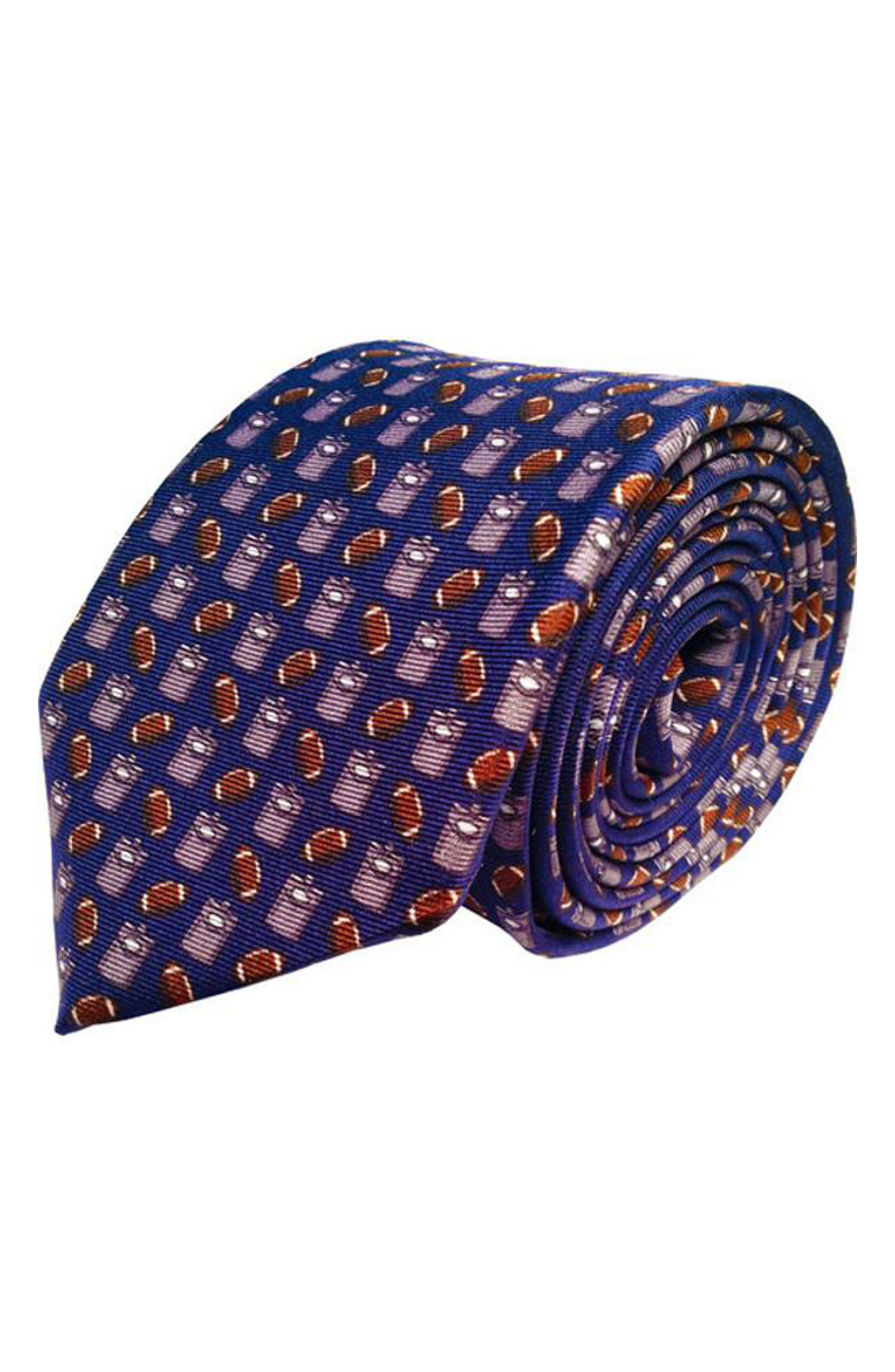 Tailgating Silk Tie,                         Main,                         color, 410